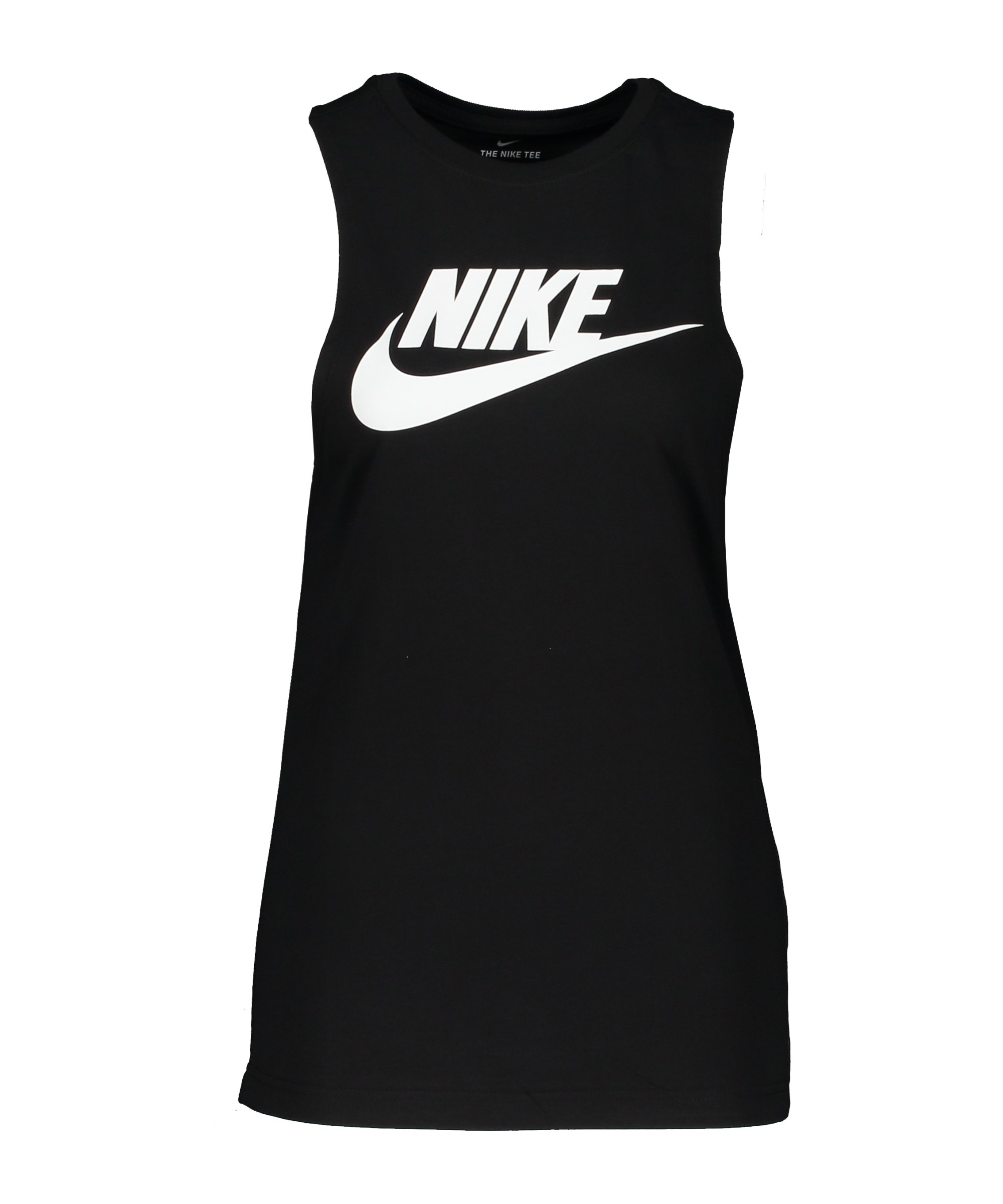 Nike Futura New Tanktop Damen Schwarz Weiss F010 - schwarz