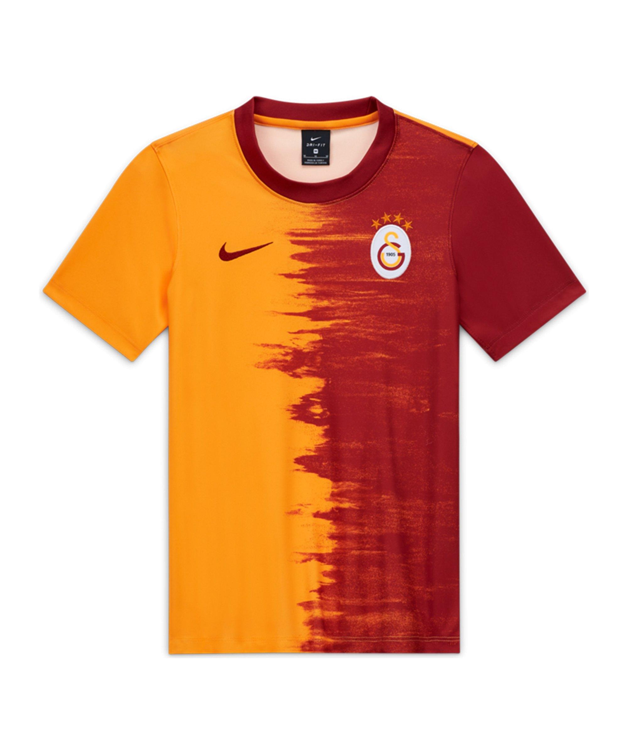 Nike Galatasaray Istanbul Trikot Home 2020/2021 Kids F836 - orange