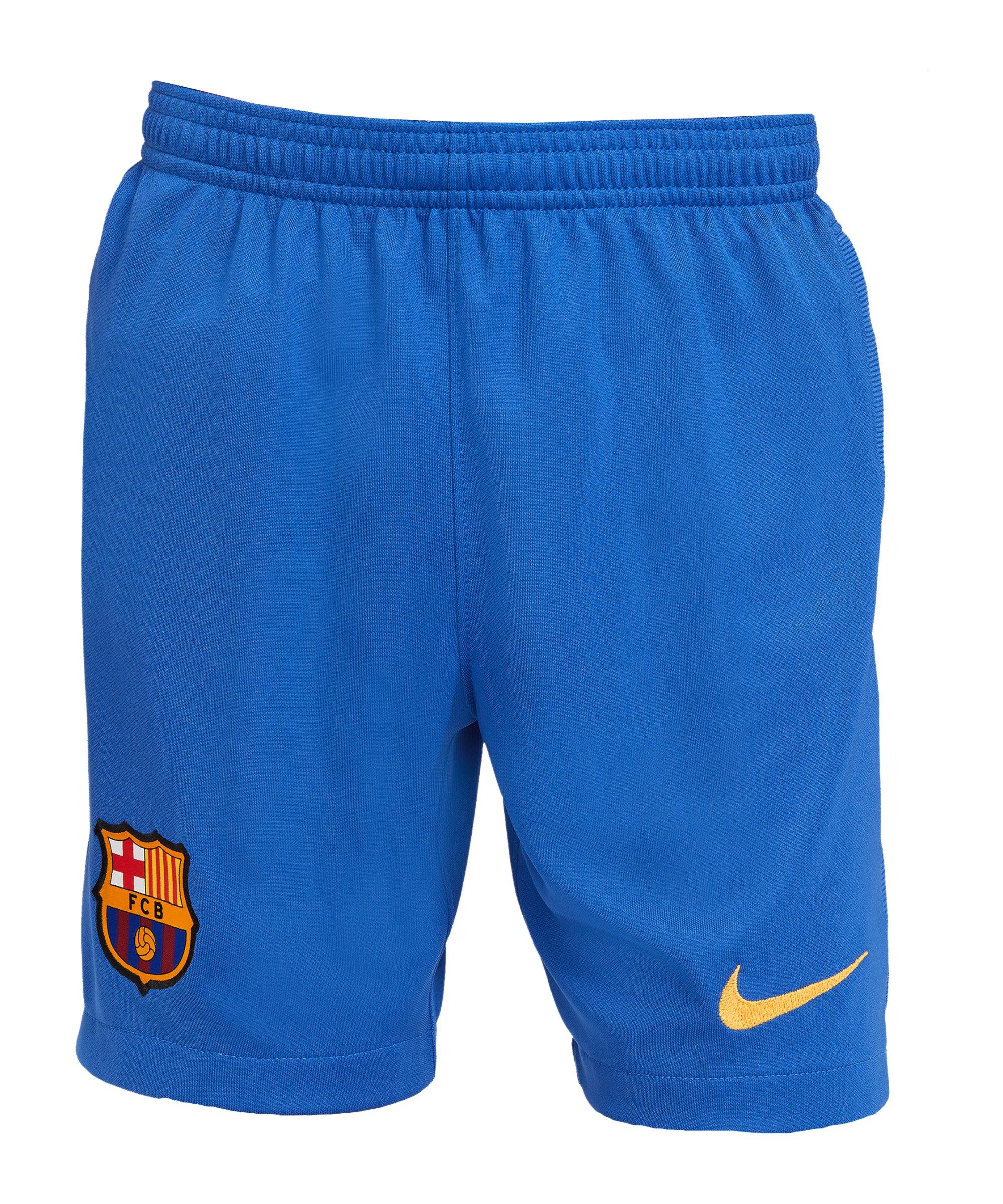 Nike FC Barcelona Short El Clásico 2020/2021 Kids F480 - blau