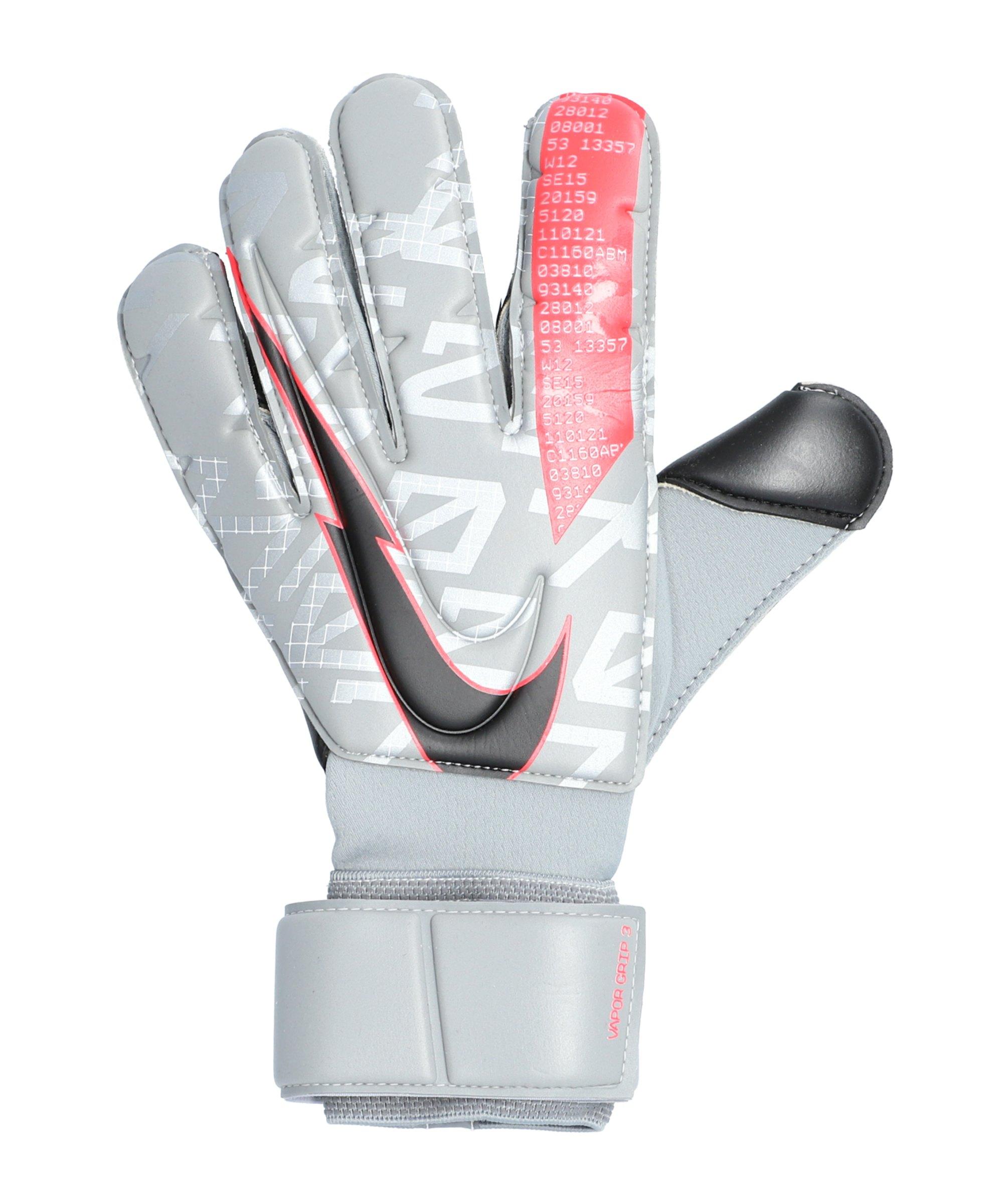 Nike Vapor Grip 3 Torwarthandschuh F073 - grau