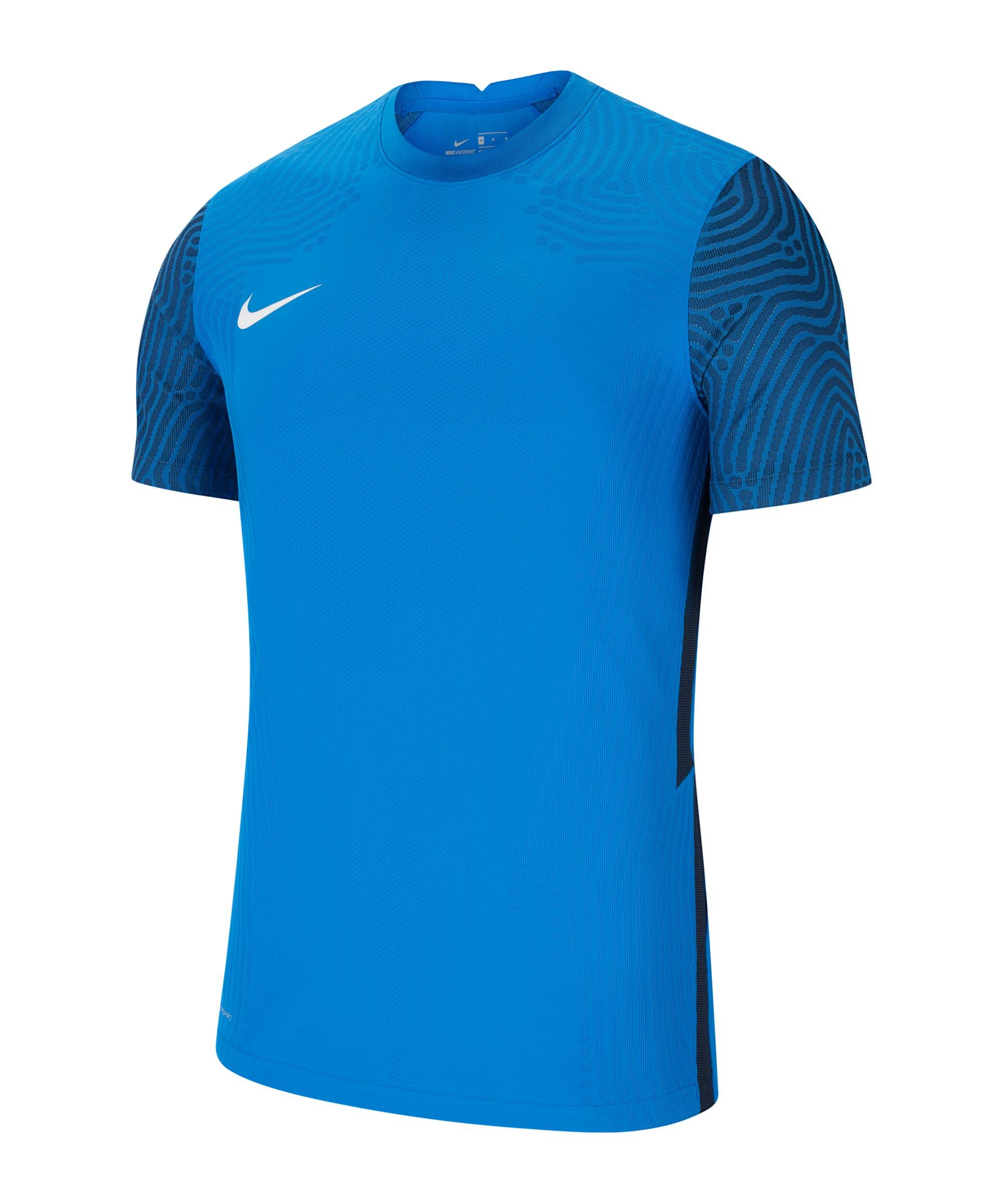 Nike Vaporknit III Trikot kurzarm Blau Weiss F463 - blau