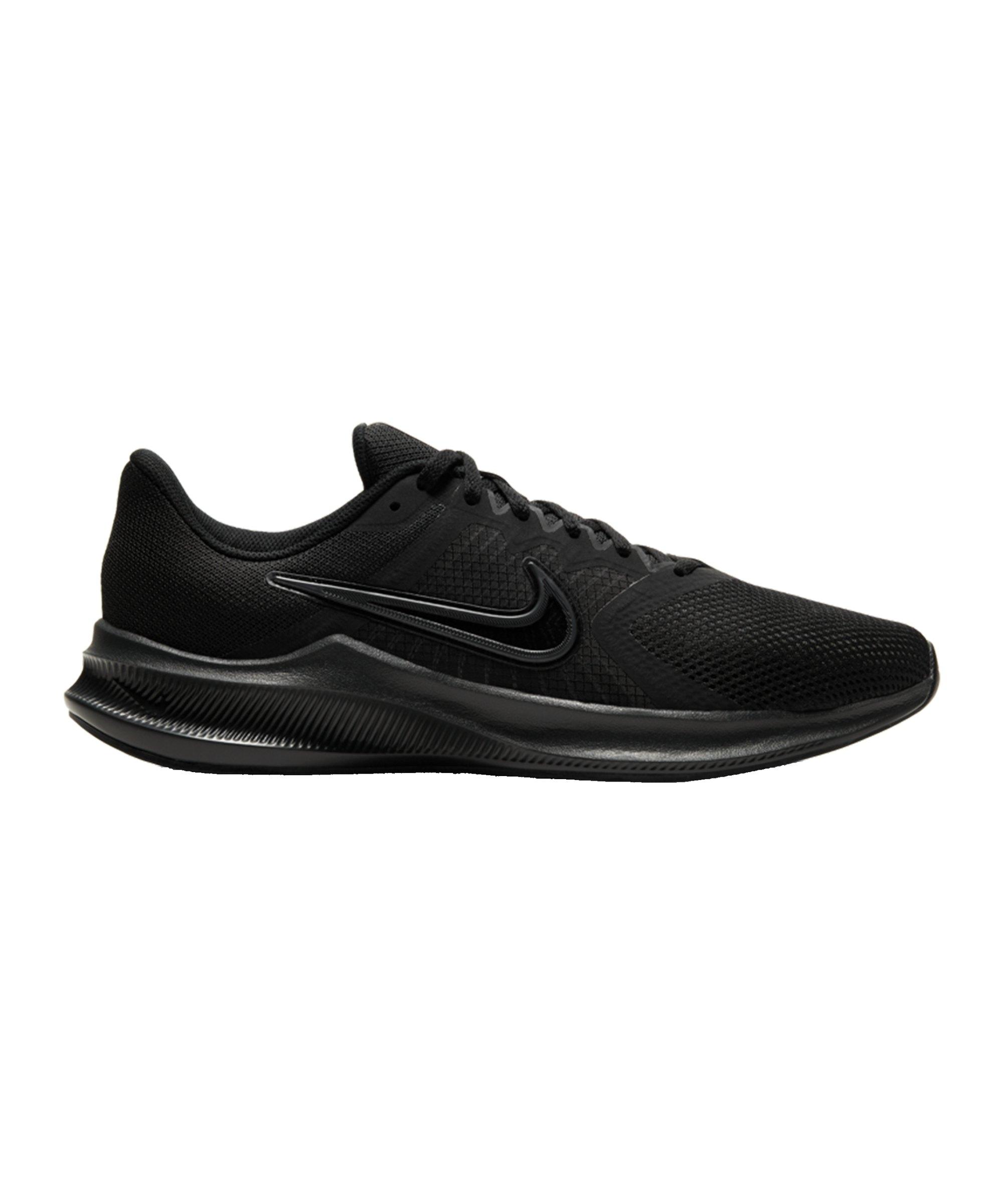 Nike Downshifter 11 Running Schwarz Grau F002 - schwarz