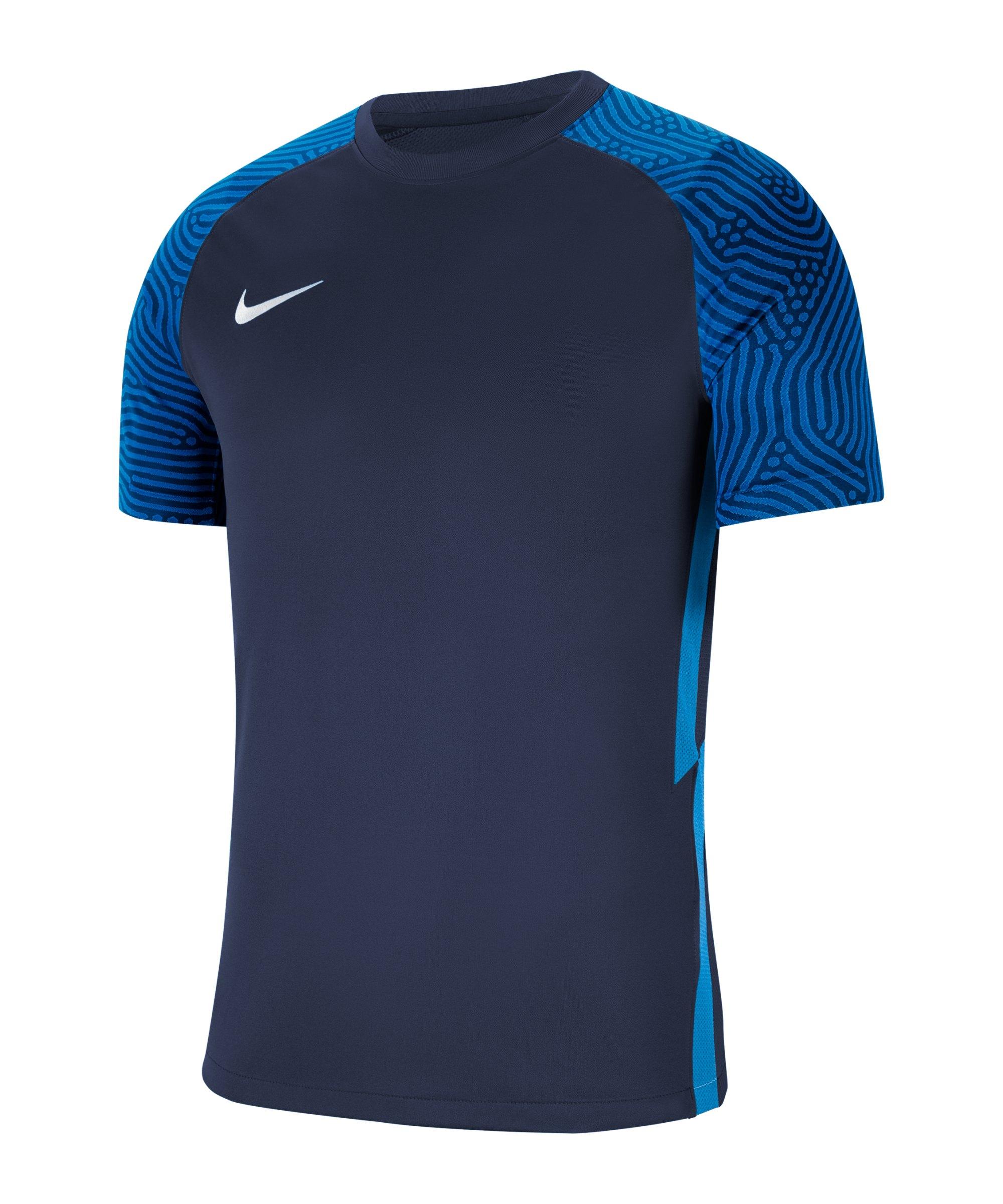 Nike Strike II Trikot kurzarm Blau Weiss F410 - blau
