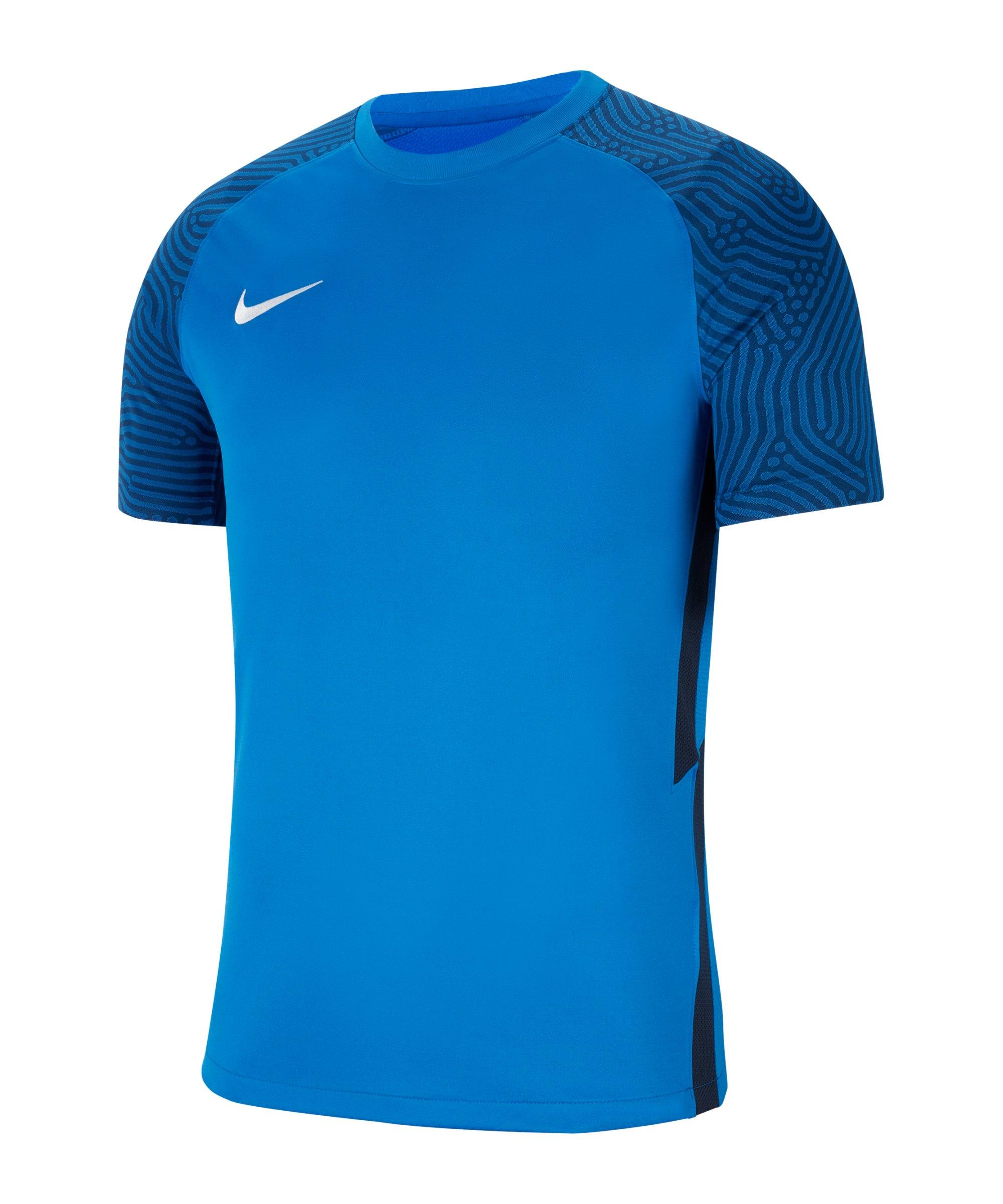 Nike Strike II Trikot kurzarm Blau Weiss F463 - blau