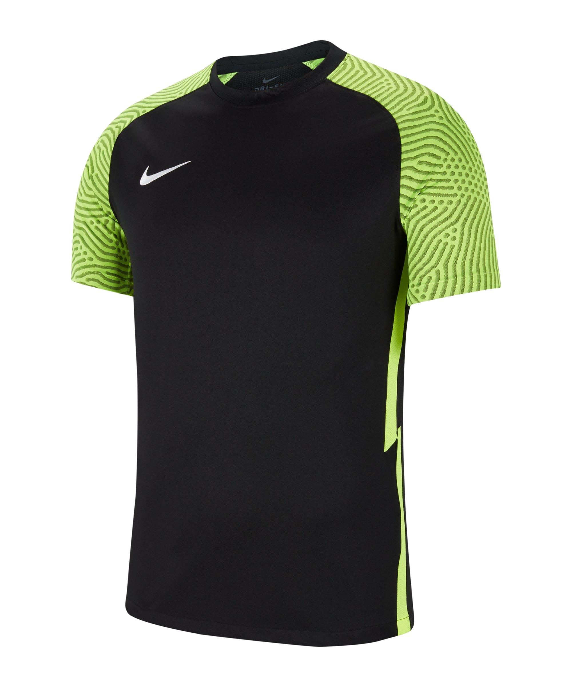 Nike Strike II Trikot kurzarm Schwarz F011 - schwarz