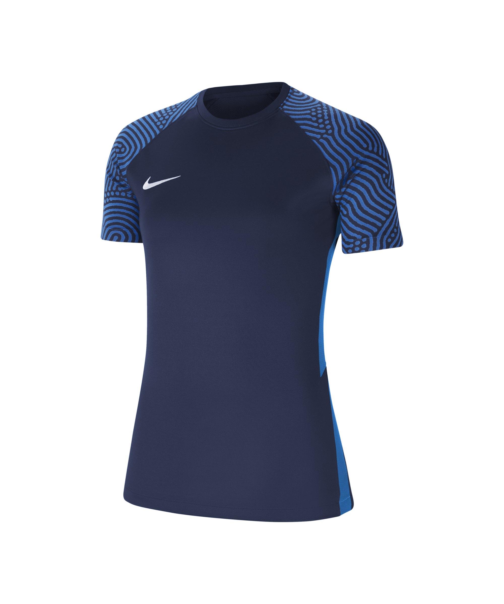 Nike Strike 2 Trikot Damen Blau Weiss F657 - blau