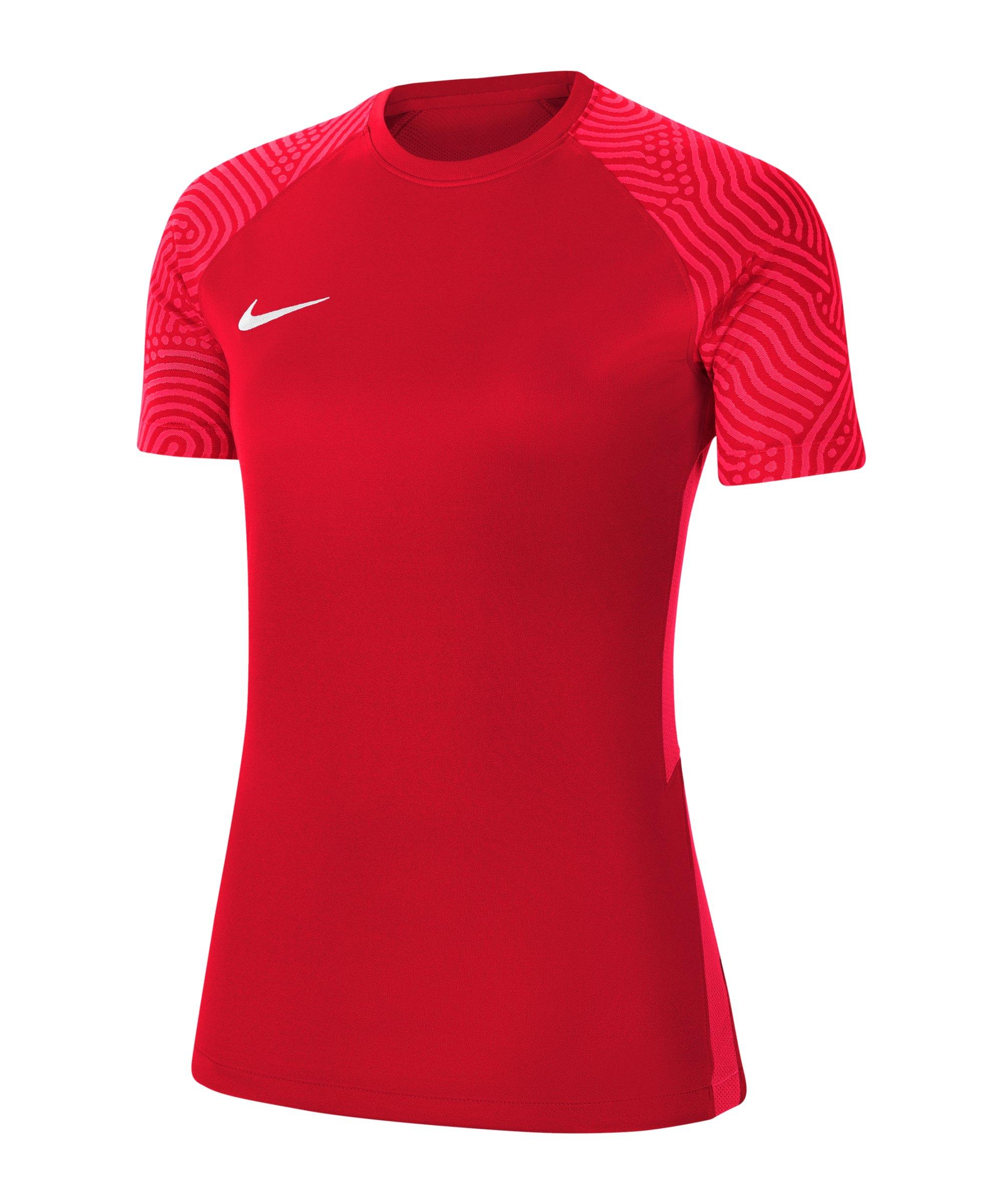 Nike Strike 2 Trikot Damen Rot Weiss F657 - rot