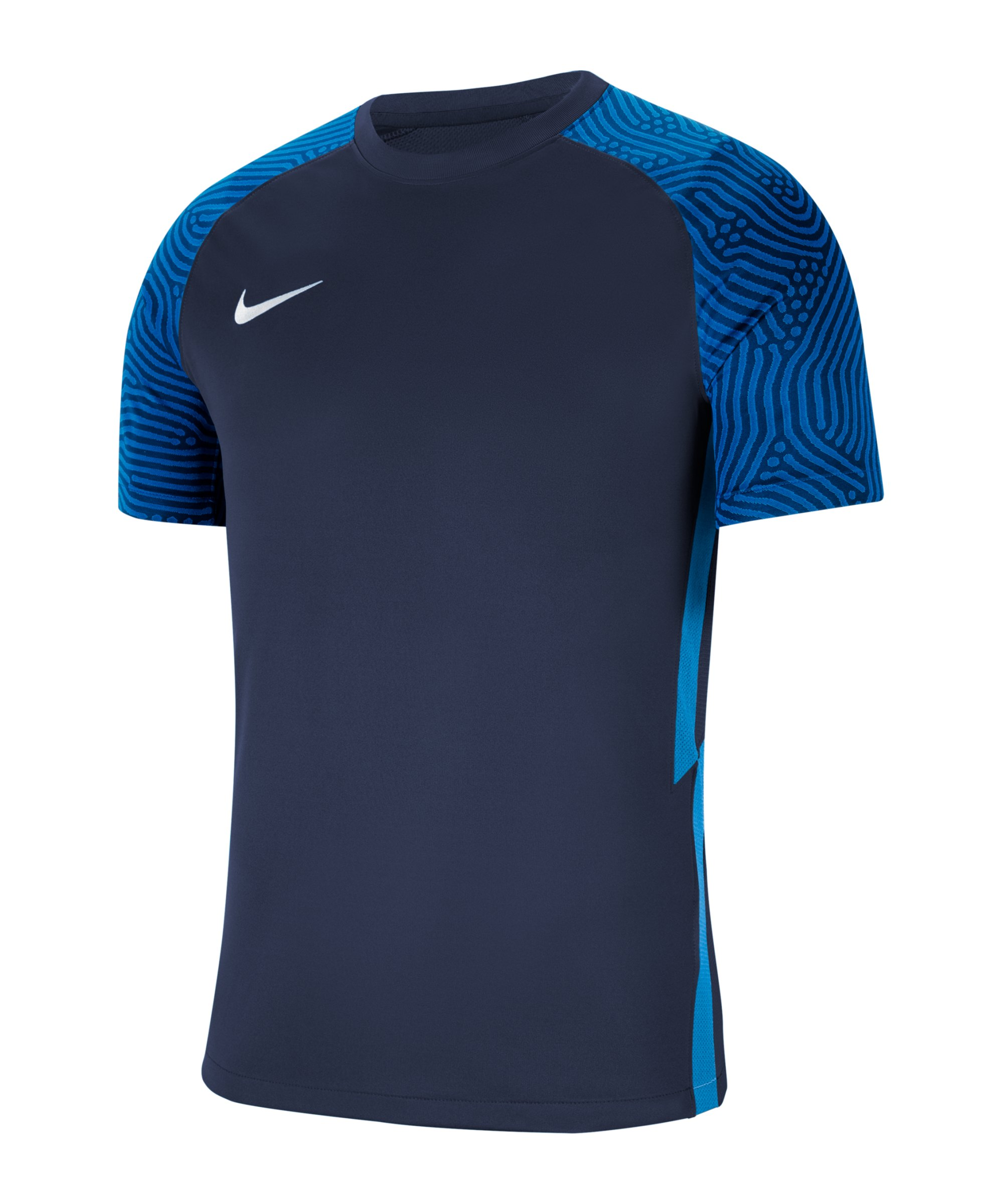 Nike Strike II Trikot kurzarm Kids Blau Weiss F410 - blau