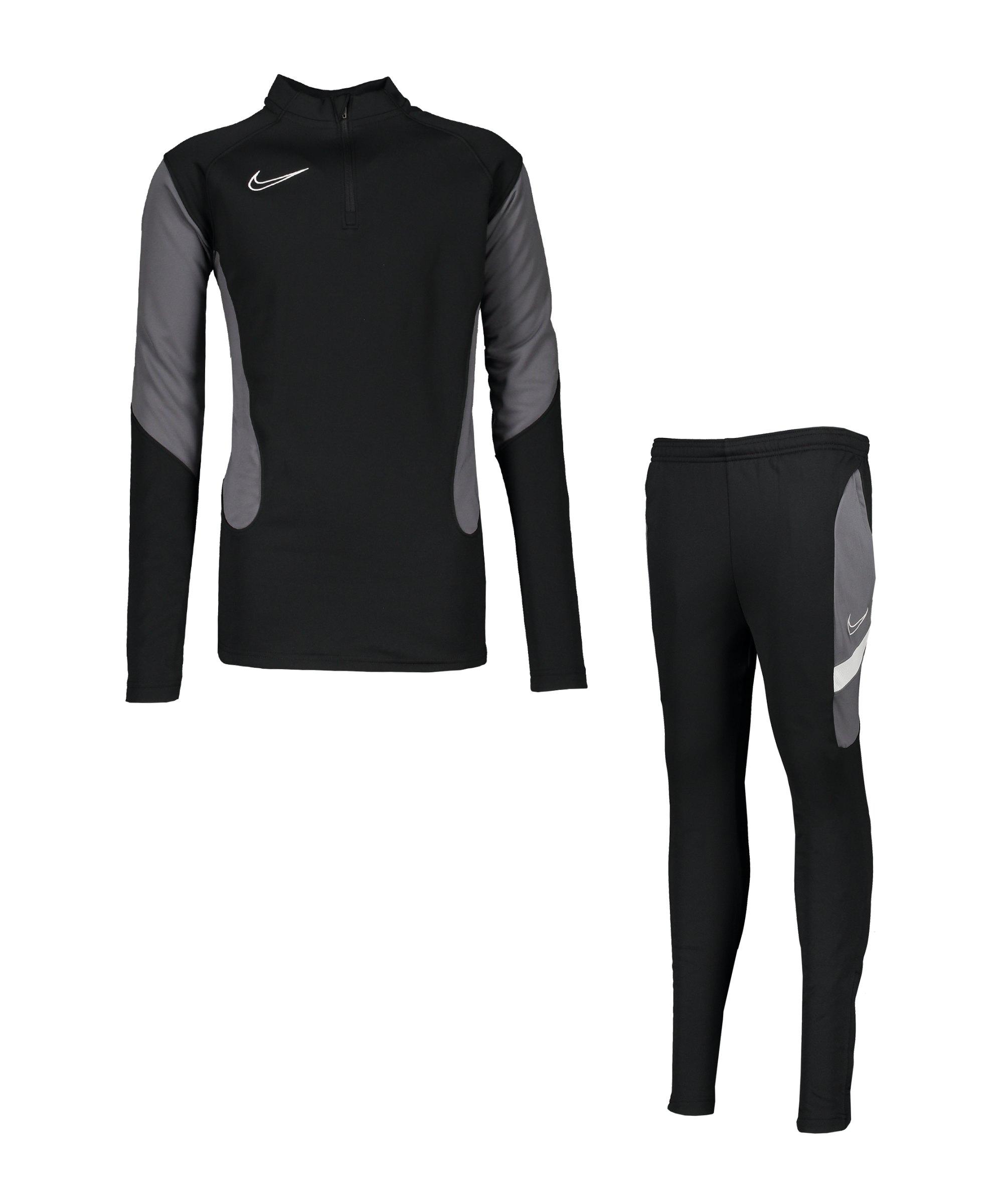 Nike Dri-Fit Academy Trainingsanzug Kids F013 - schwarz