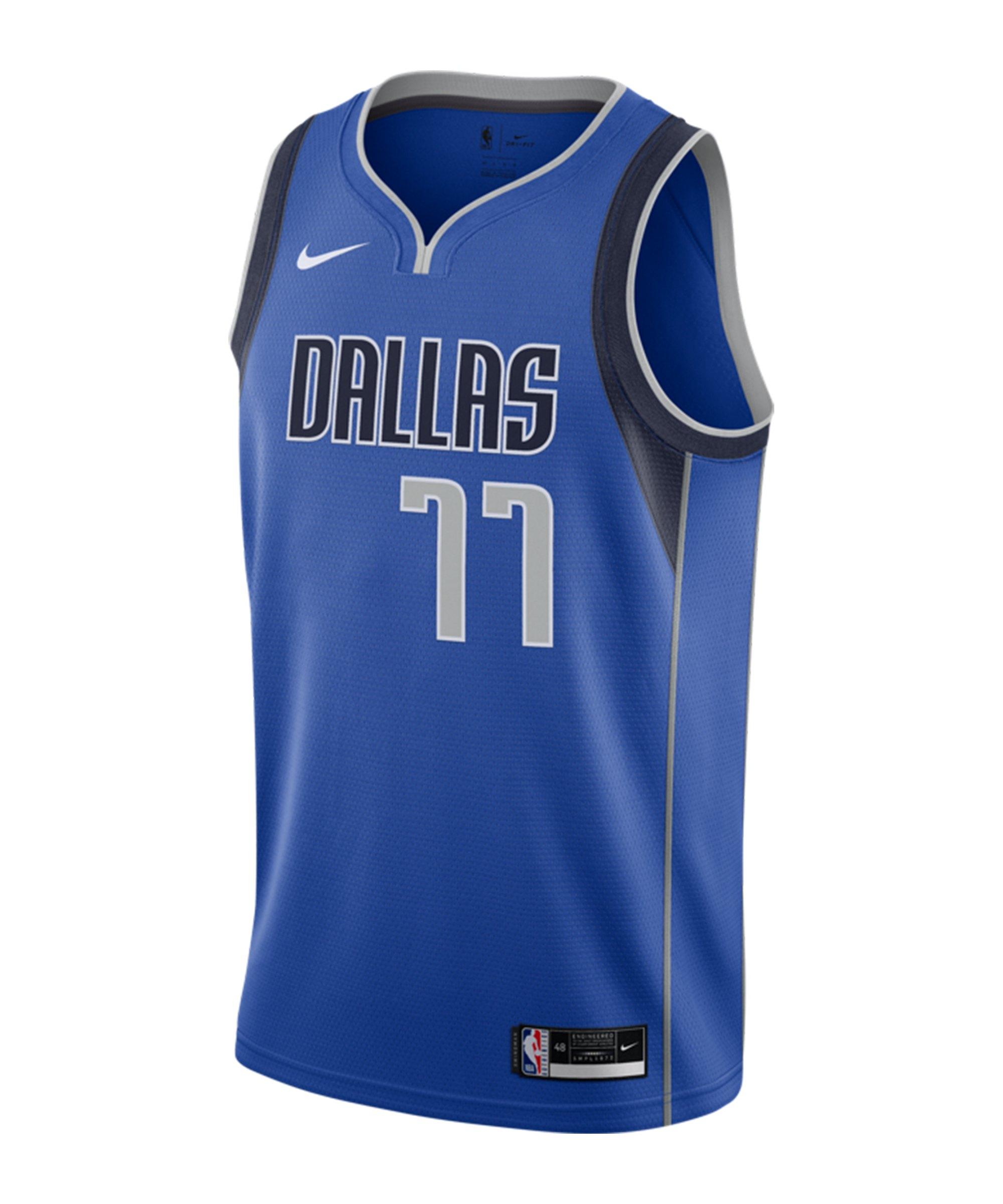 Nike Dallas Mavericks Doncic Jersey 2020 F489 - blau
