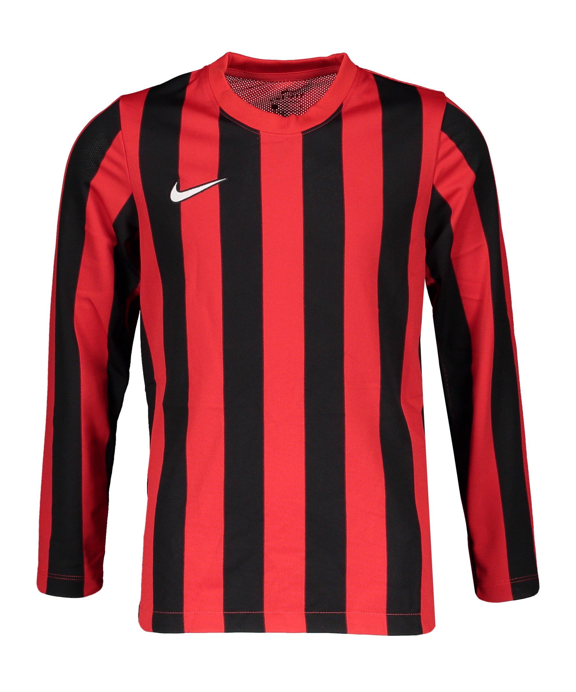 Nike Division IV Striped Trikot kurzarm Kids F658 - rot