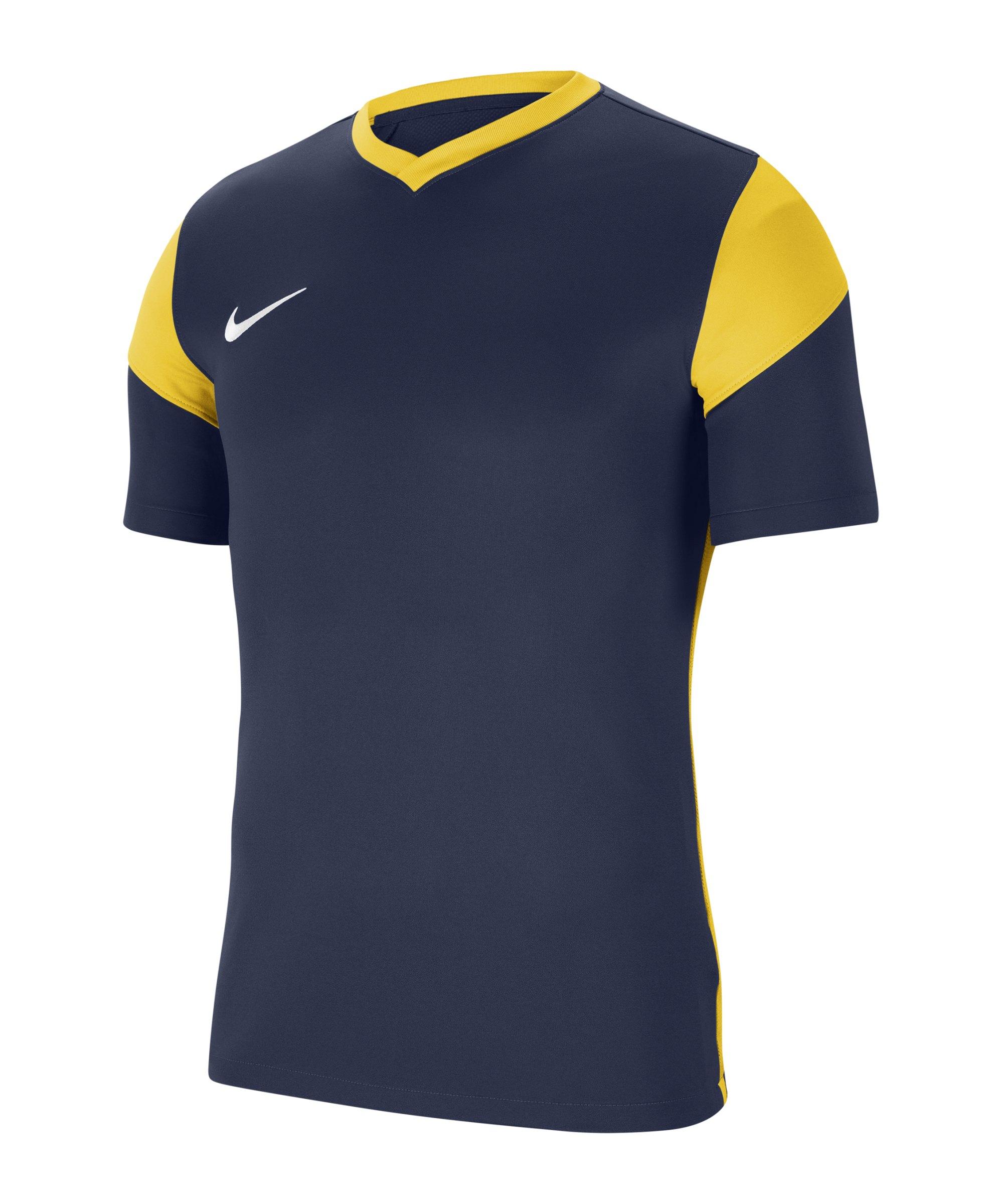 Nike Park Derby III Trikot Blau Gelb F410 - blau