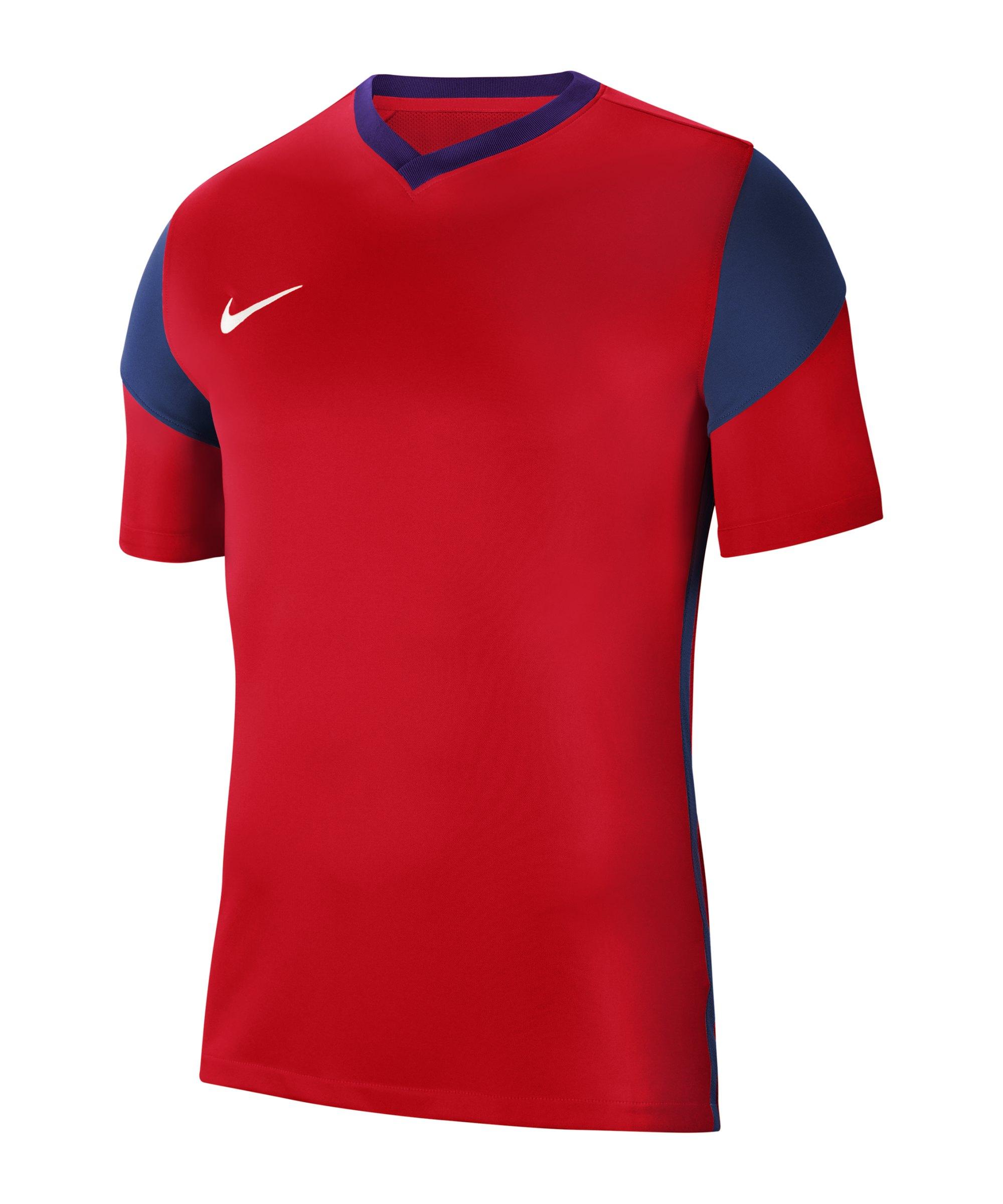 Nike Park Derby III Trikot Rot Blau F658 - rot