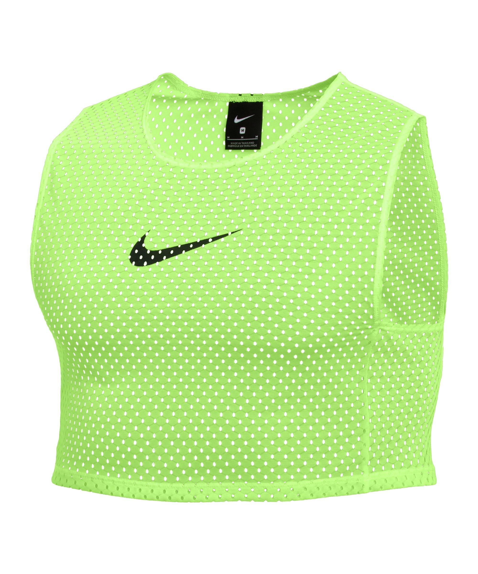 Nike Park Markierungshemdchen 3er Pack Grün F313 - gruen
