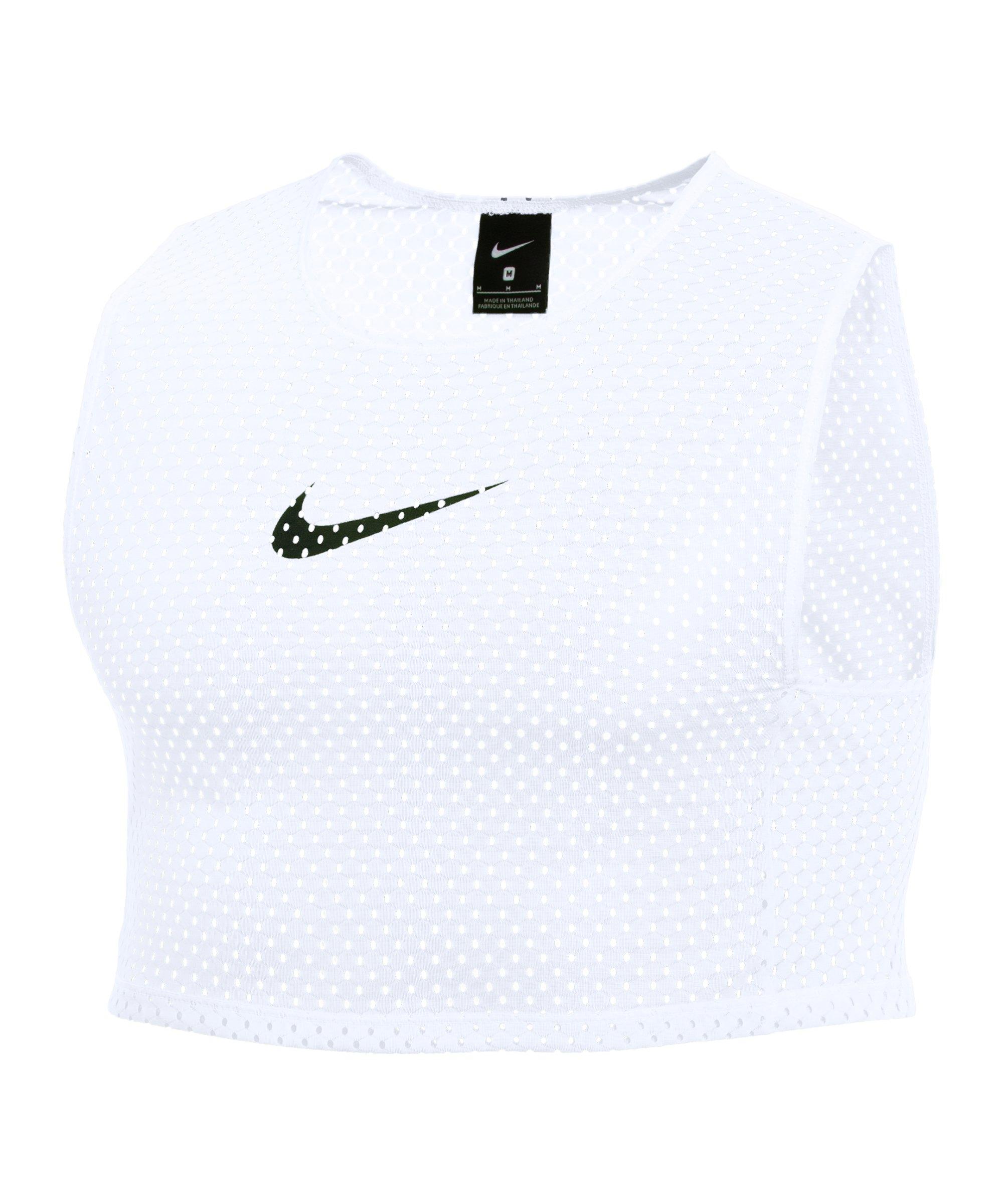 Nike Park Markierungshemdchen 3er Pack Weiss F100 - weiss