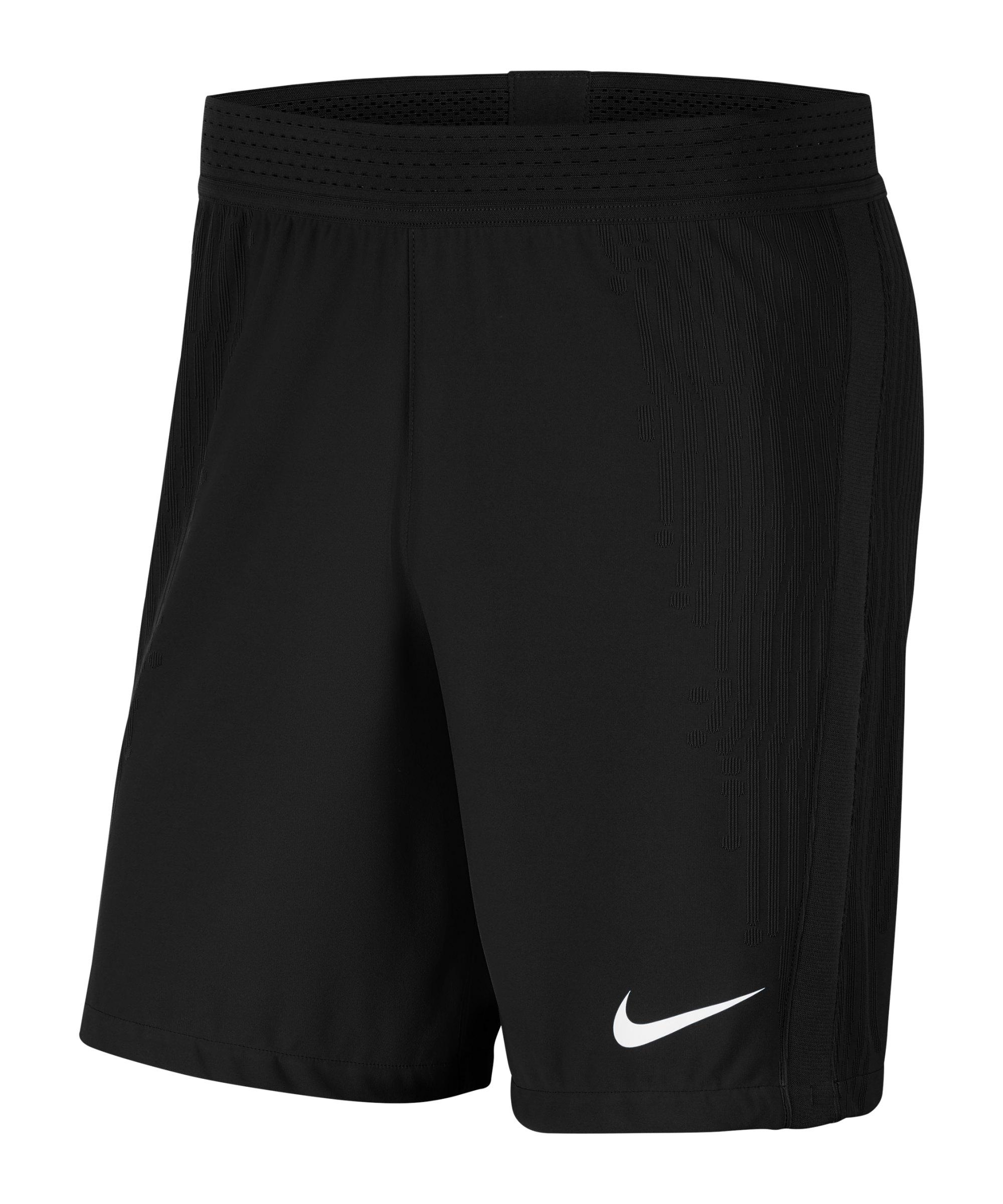 Nike Vaporknit III Short Schwarz Weiss F010 - schwarz