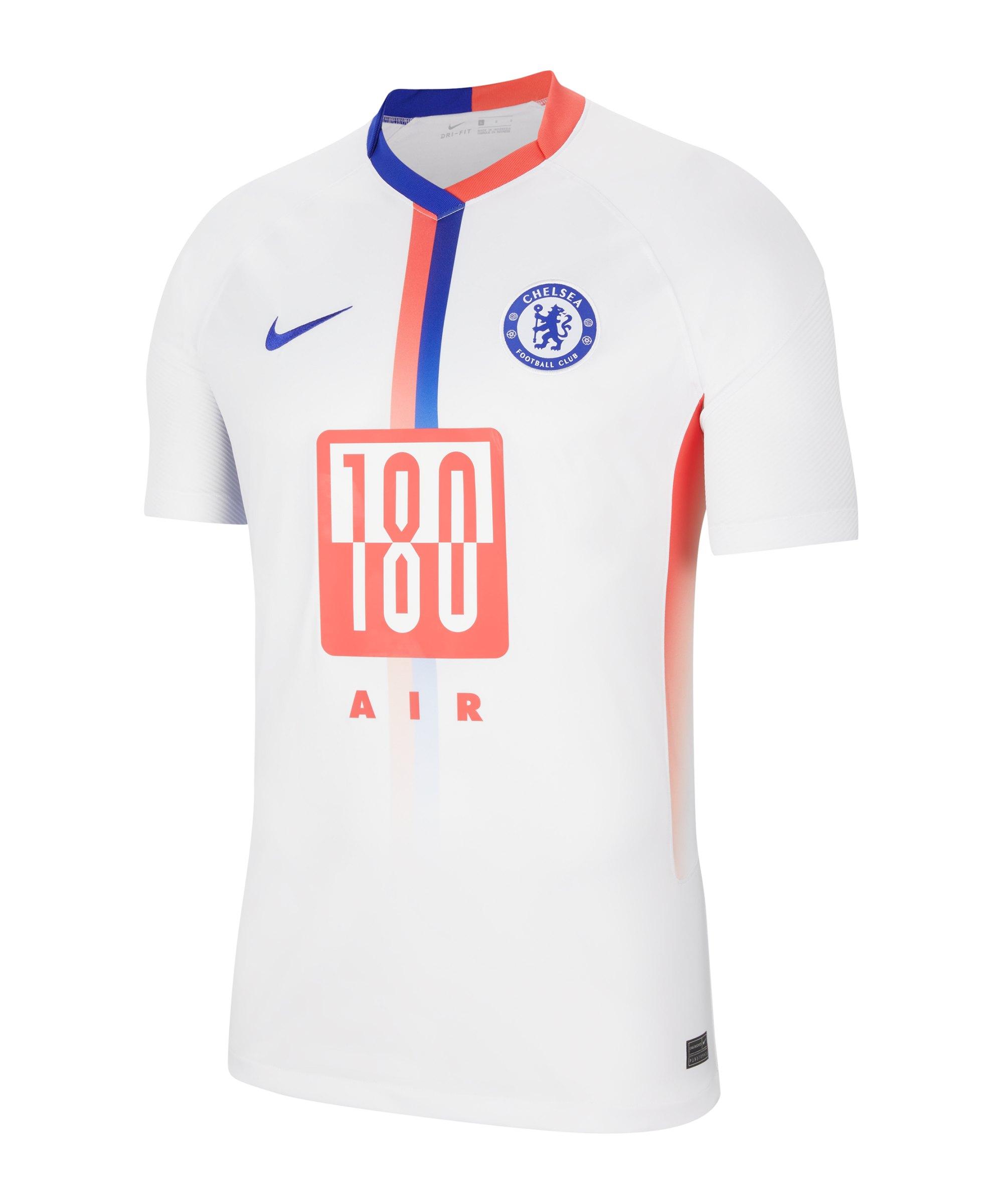 Nike FC Chelsea London Air Max Trikot 2020/2021 Weiss F101 - weiss