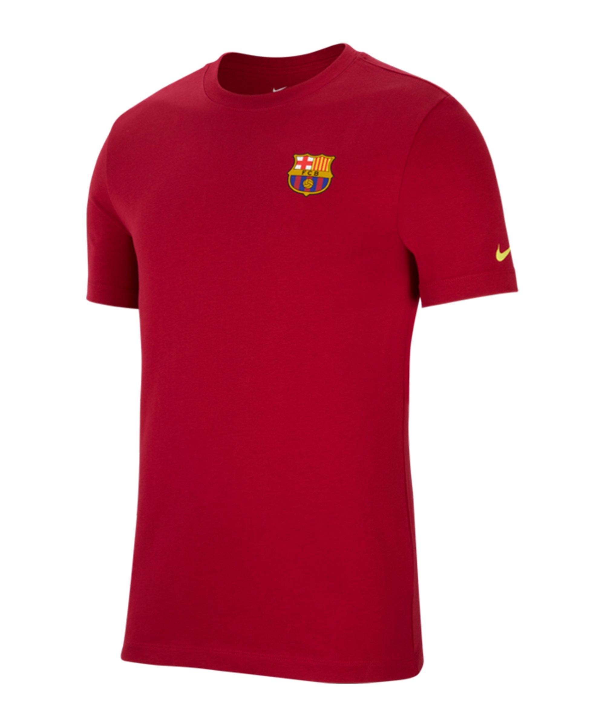 Nike FC Barcelona Travel T-Shirt F620 - rot