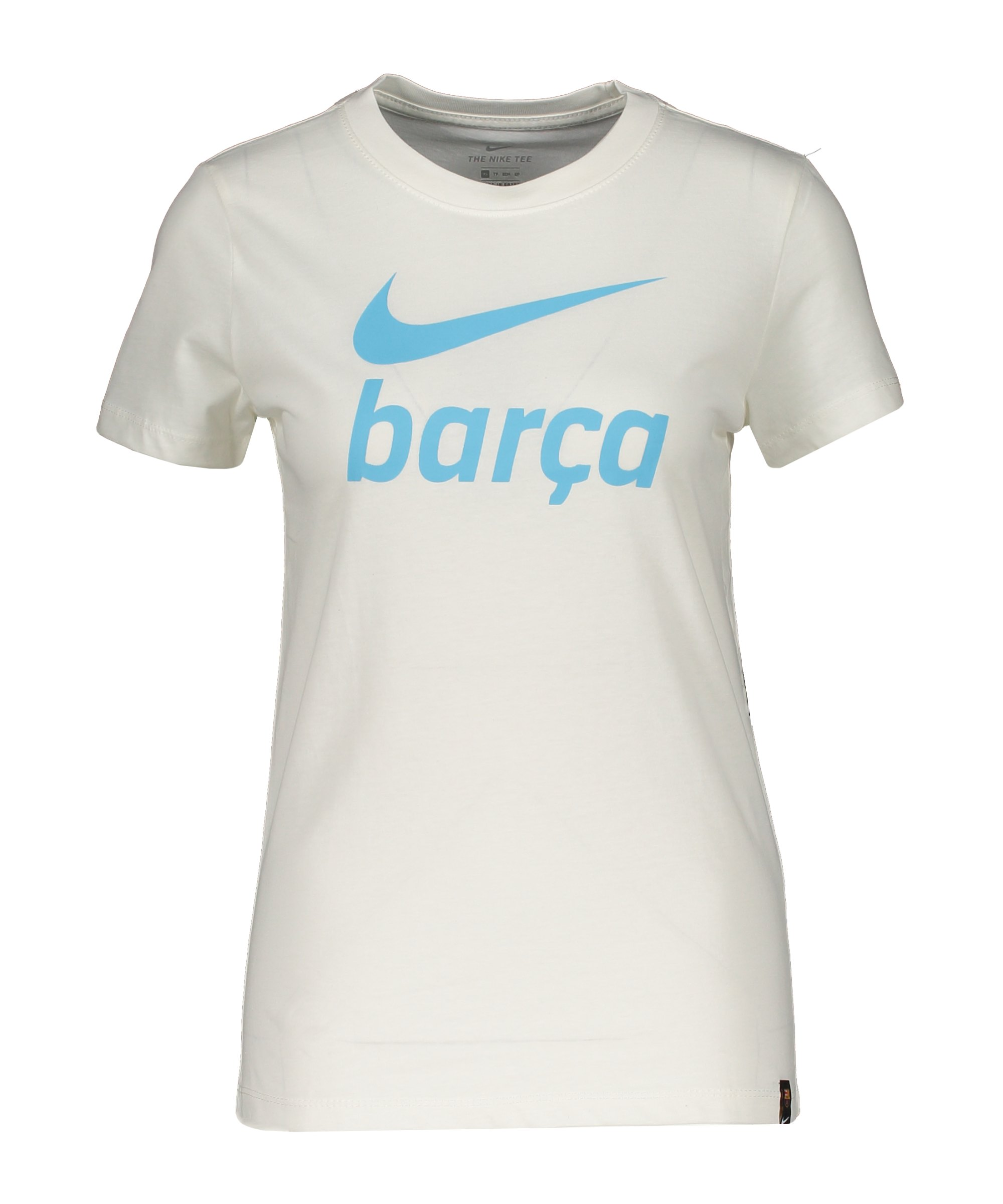 Nike FC Barcelona Swoosh Club T-Shirt Damen F133 - beige