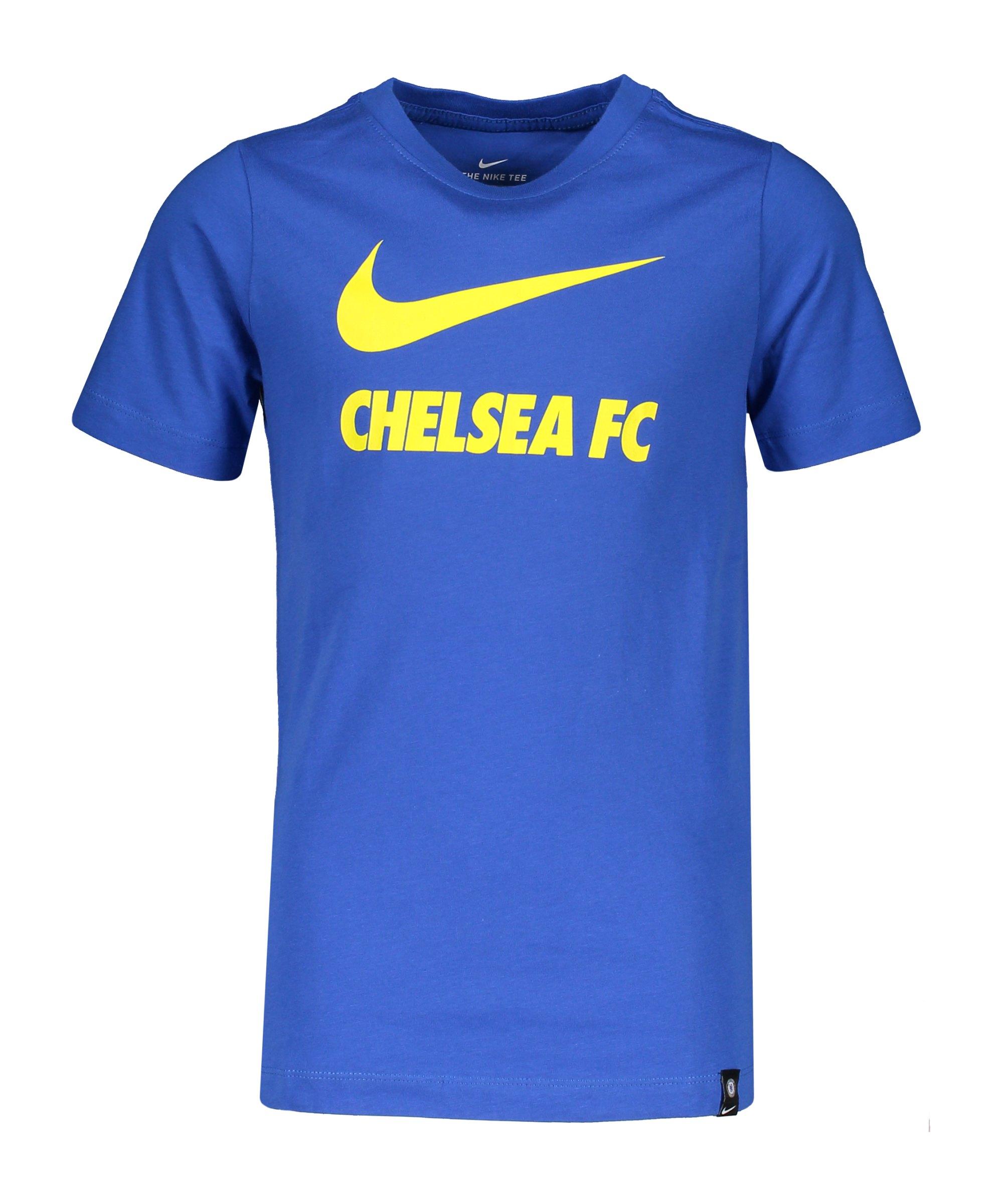 Nike FC Chelsea London Swoosh T-Shirt Kids F480 - blau