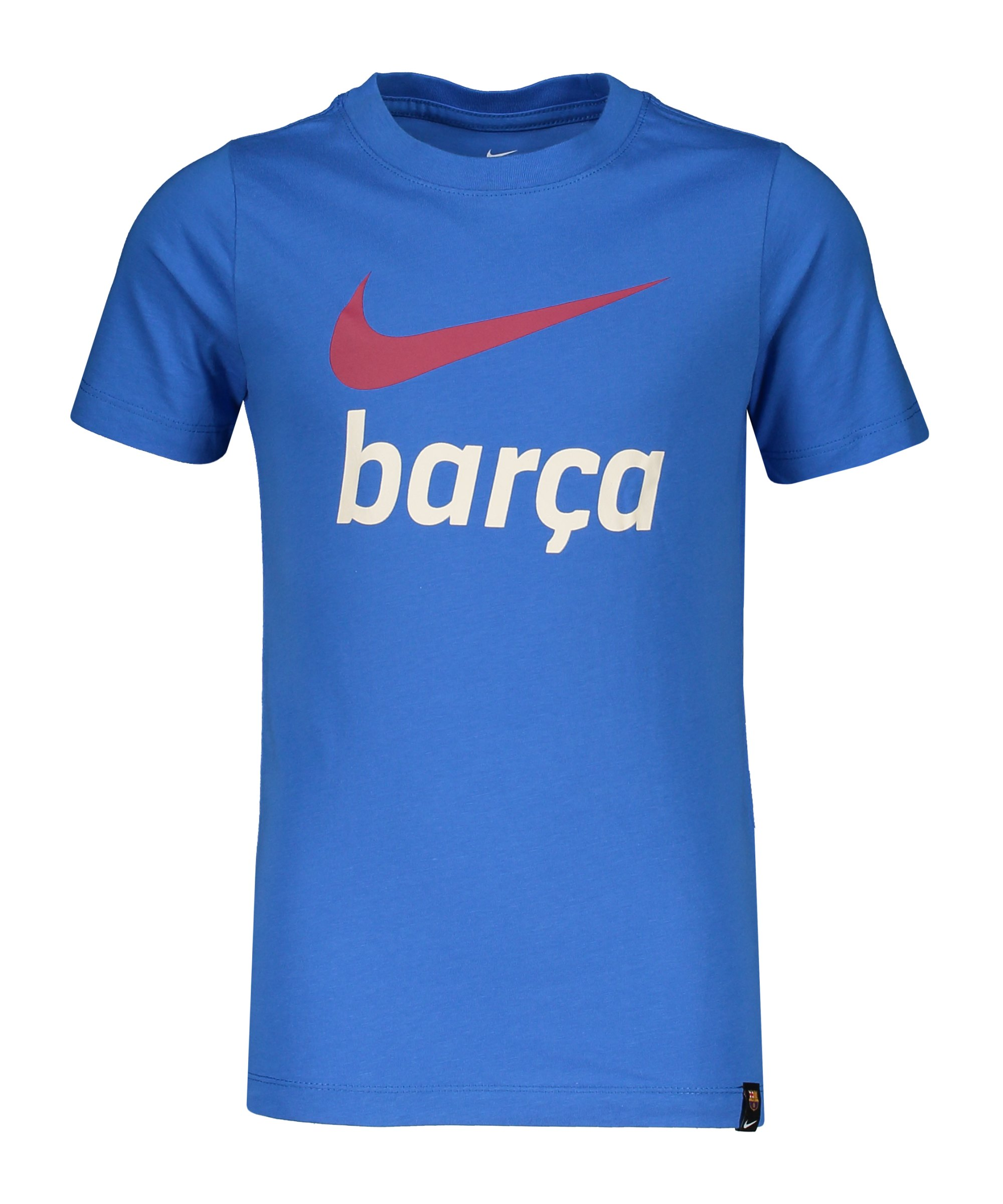 Nike FC Barcelona Swoosh T-Shirt Kids Blau F403 - blau