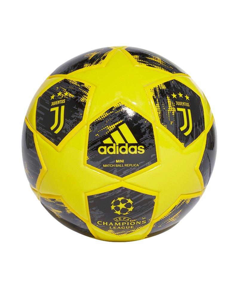 adidas Juventus Turin Finale18 Miniball Gelb - gelb