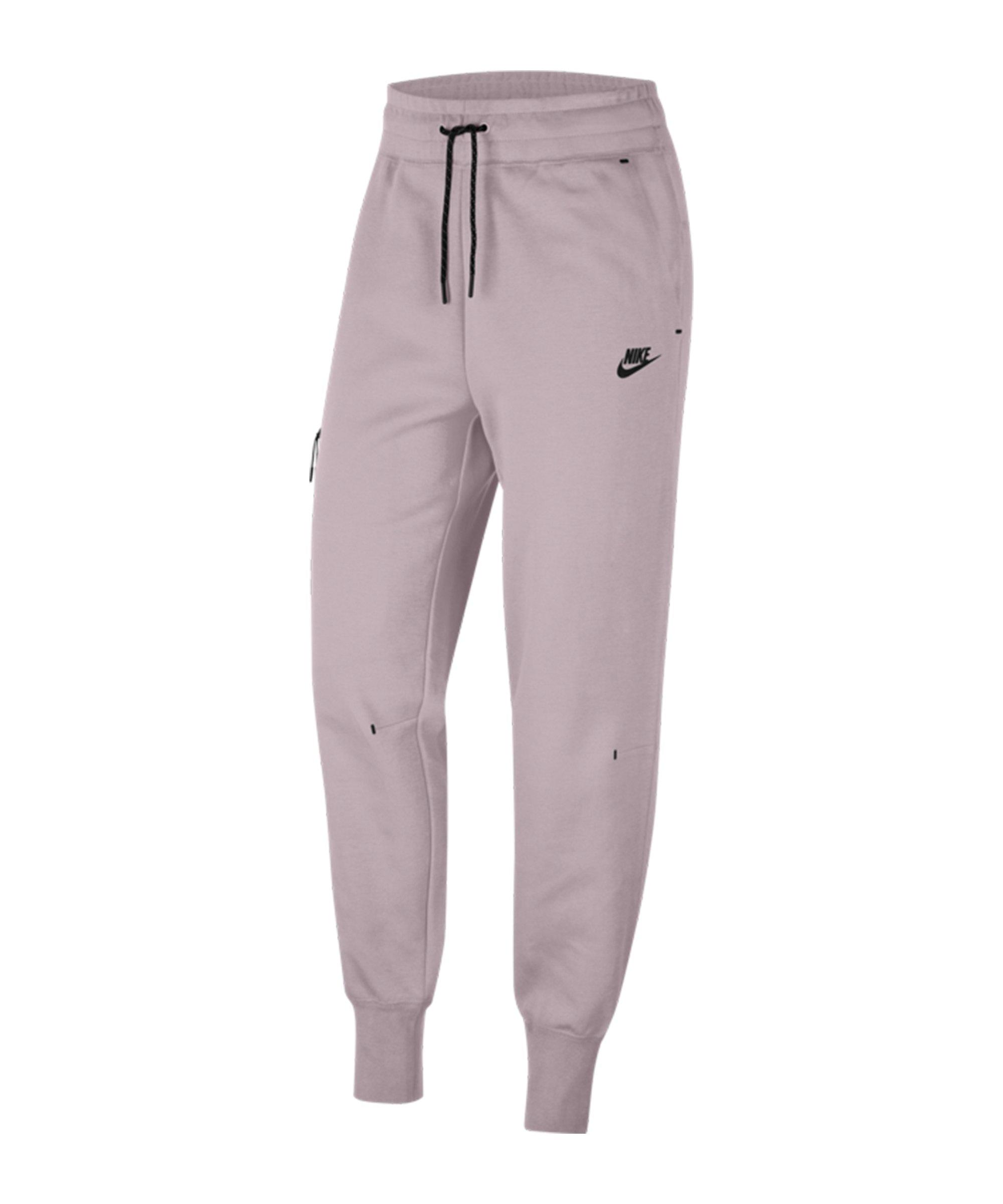 Nike Tech Fleece Jogginghose Damen Rosa F645 - weiss