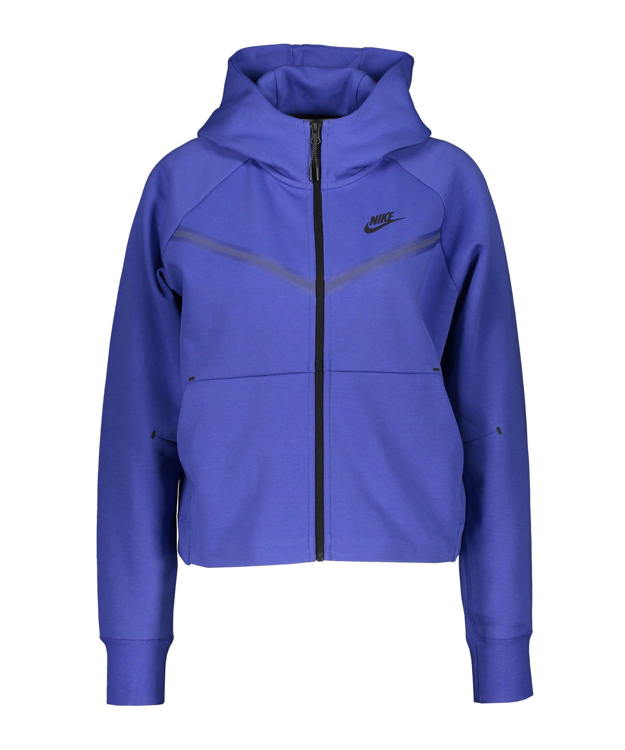Nike Tech Fleece Windrunner Damen Blau F431 - blau