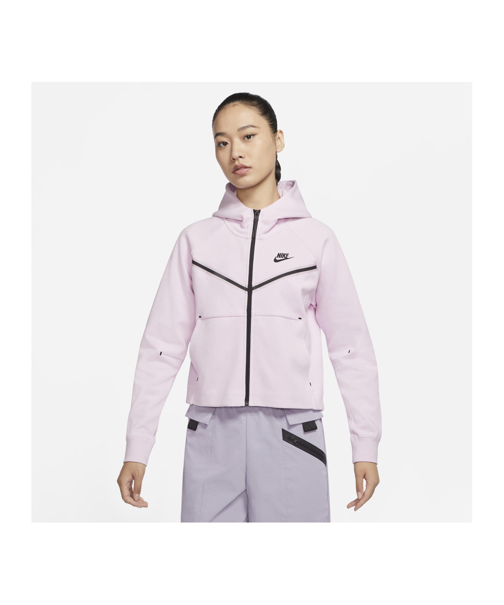Nike Tech Fleece Windrunner Damen Rosa F695 - rosa