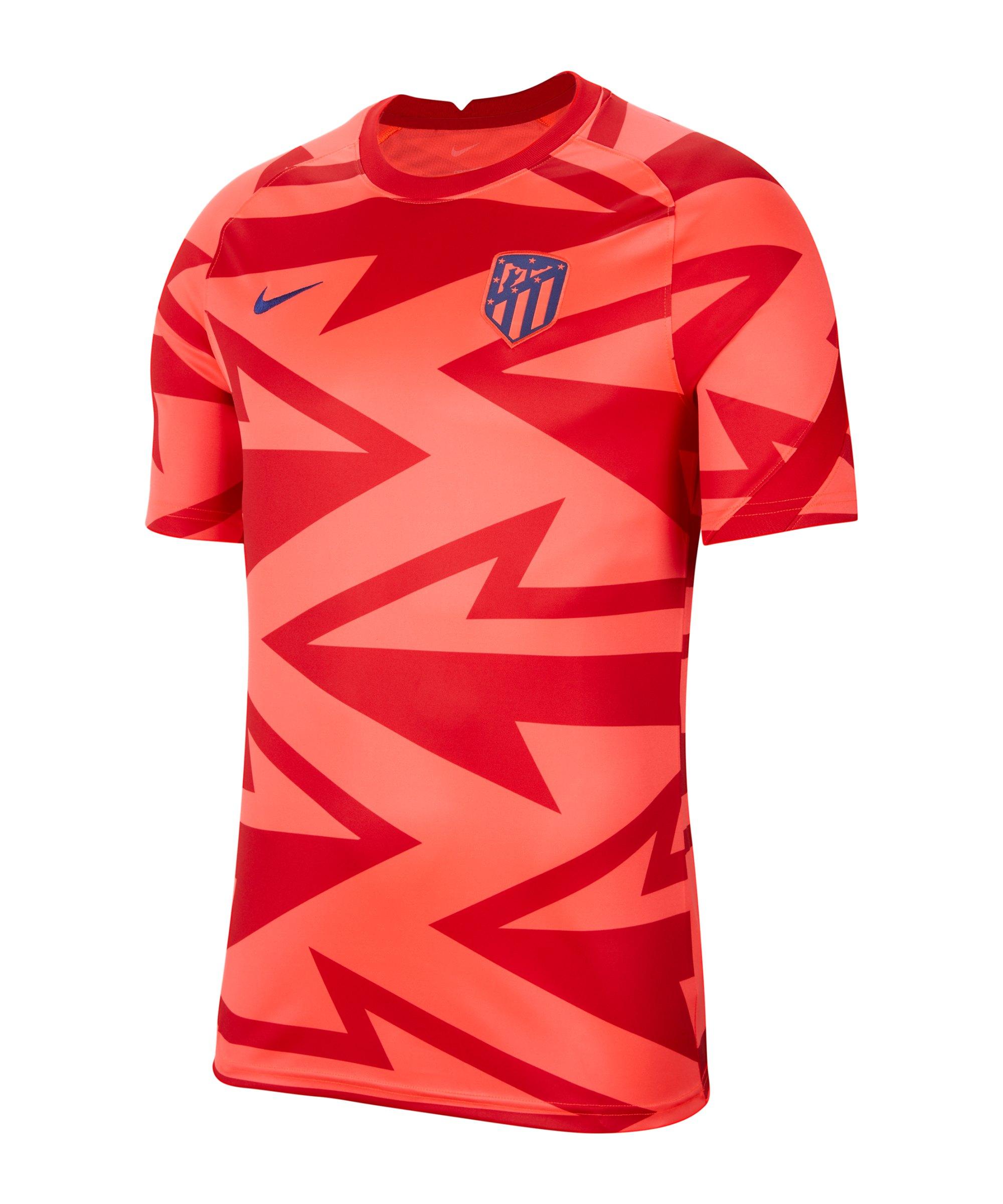 Nike Atletico Madrid Prematch Shirt 2021/2022 F645 - rot