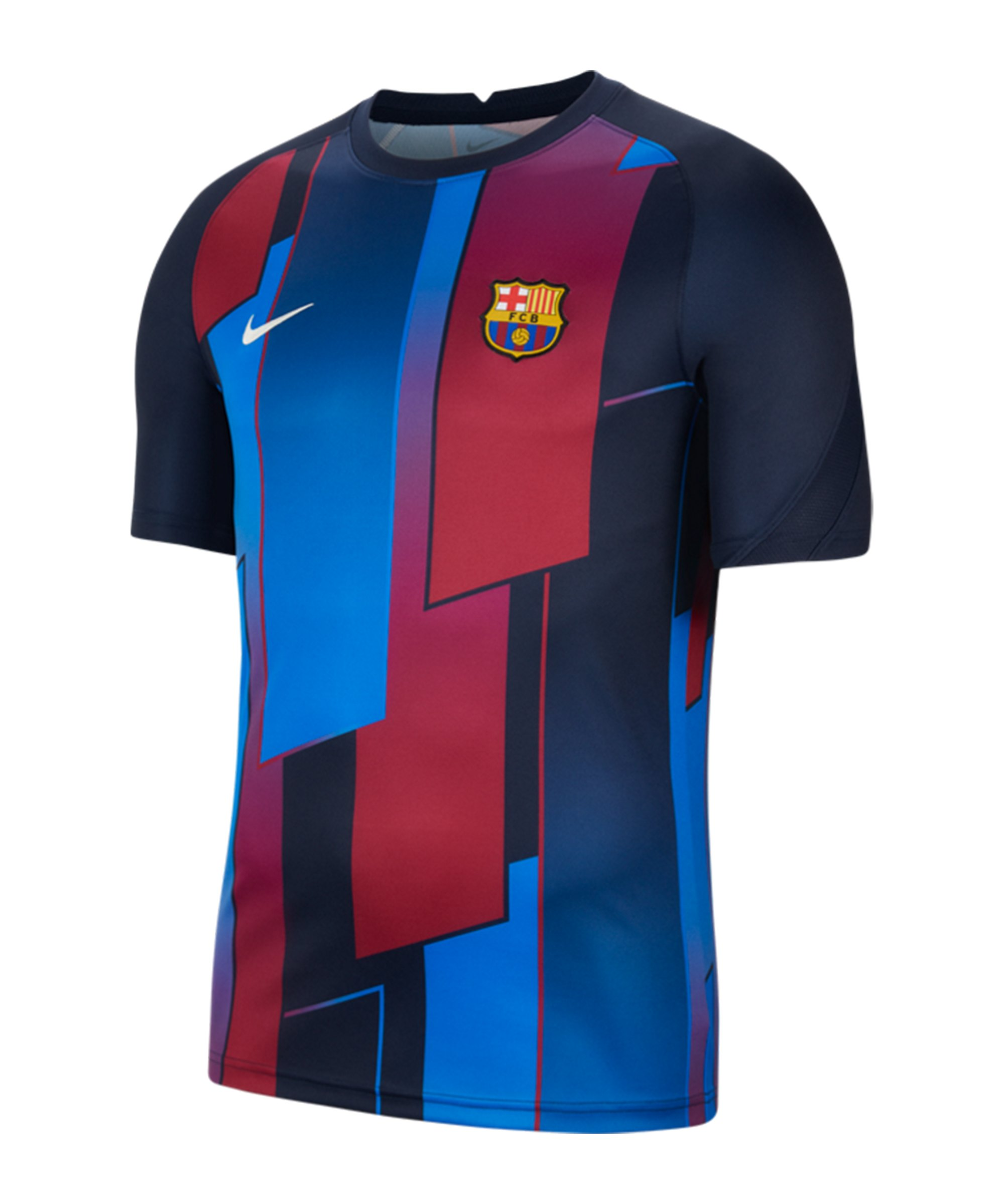 Nike FC Barcelona Prematch Shirt 2021/2022 F452 - blau