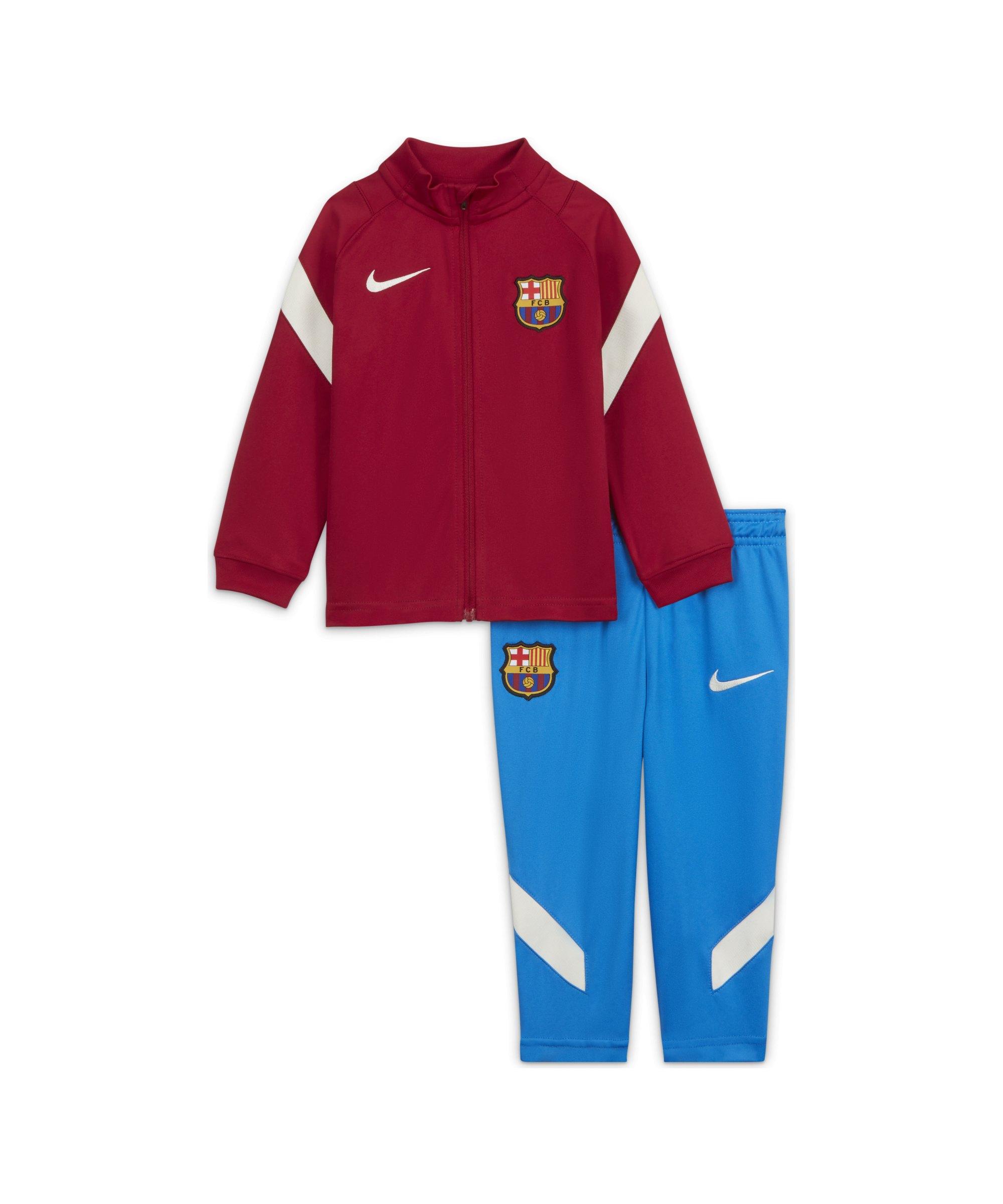Nike FC Barcelona Trainingsanzug Baby Rot F620 - rot
