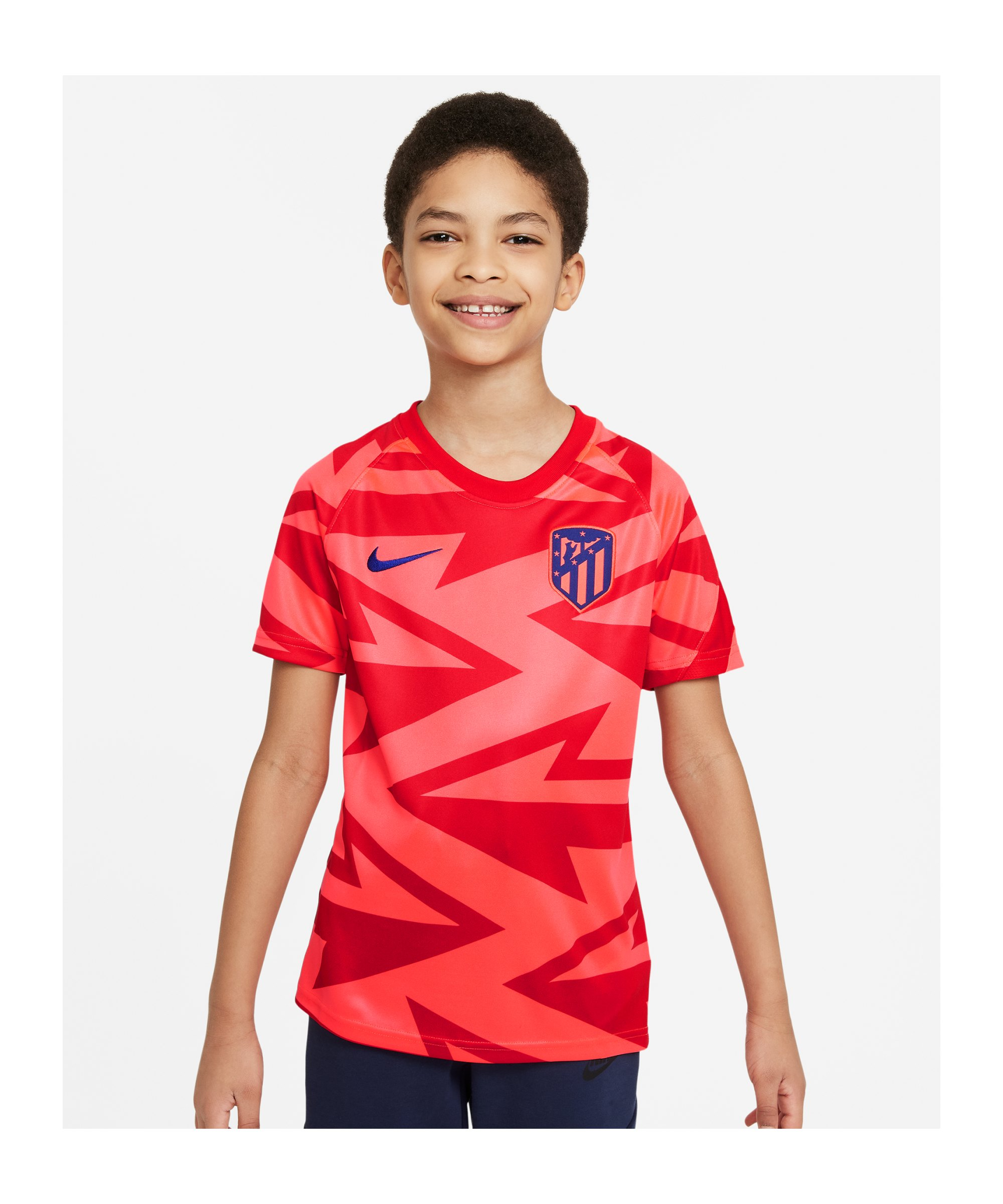 Nike Atletico Madrid Prematch Shirt 2021/2022 - rot