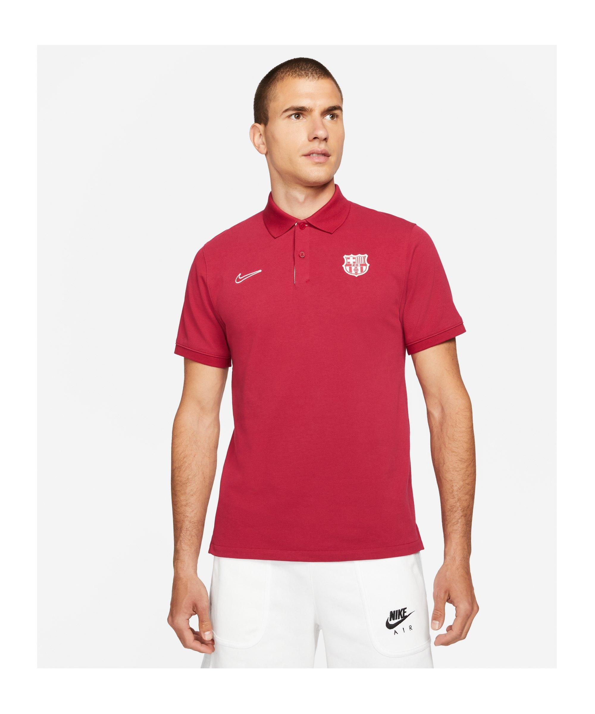 Nike FC Barcelona Poloshirt F620 - rot
