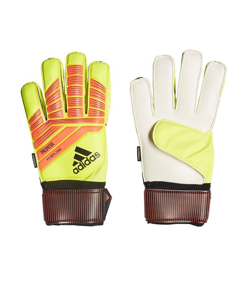 adidas Predator FS Rep TW-Handschuh Gelb Blau - gelb