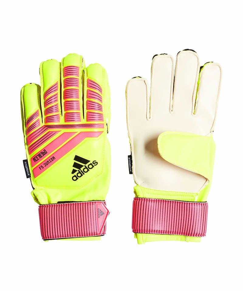 adidas Predator FS JR TW-Handschuh Kids Gelb Rot - gelb