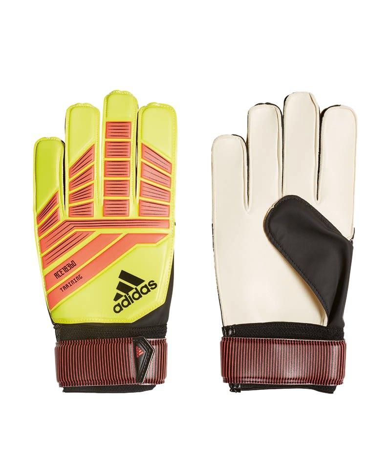 adidas Predator Training TW-Handschuh Gelb Rot - gelb