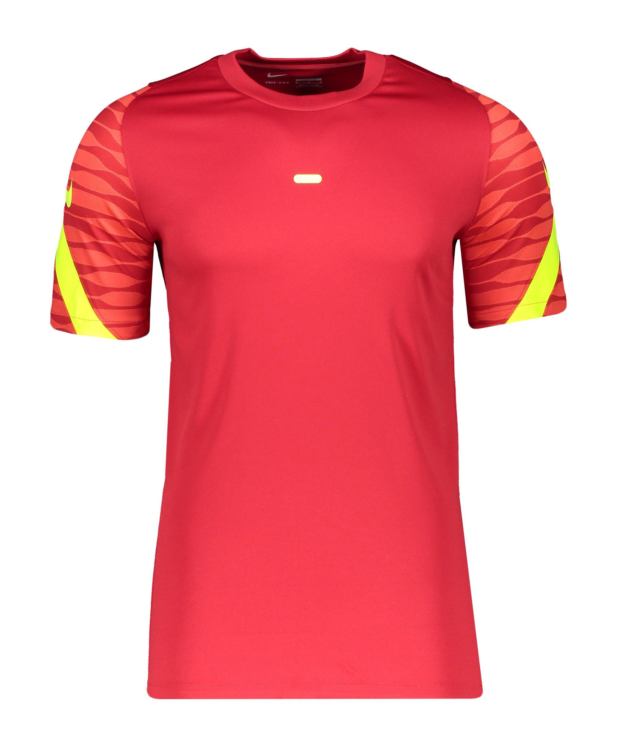 Nike Strike 21 T-Shirt Rot F687 - rot