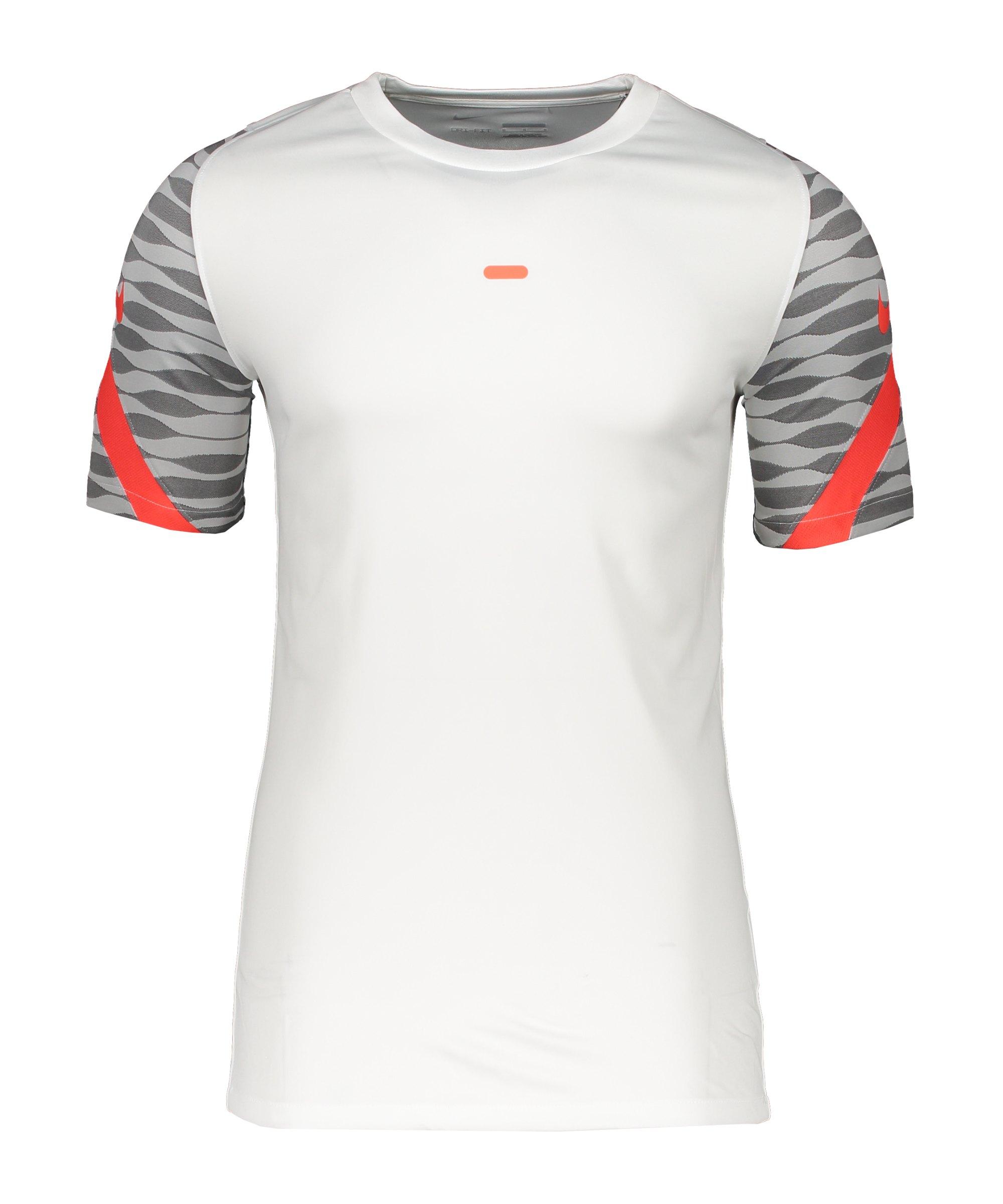 Nike Strike 21 T-Shirt Weiss Schwarz F101 - weiss