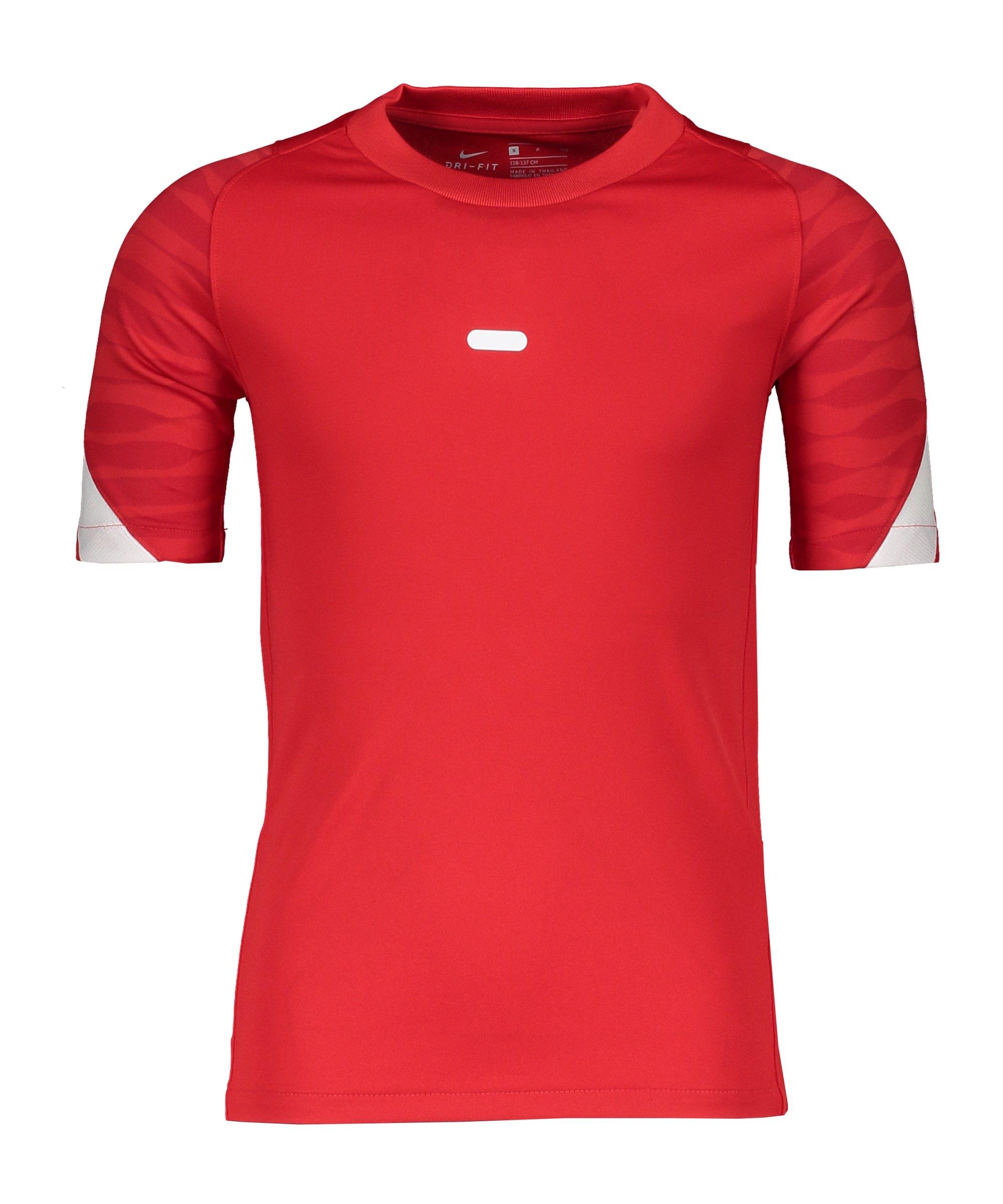 Nike Strike 21 T-Shirt Kids Rot Weiss F657 - rot
