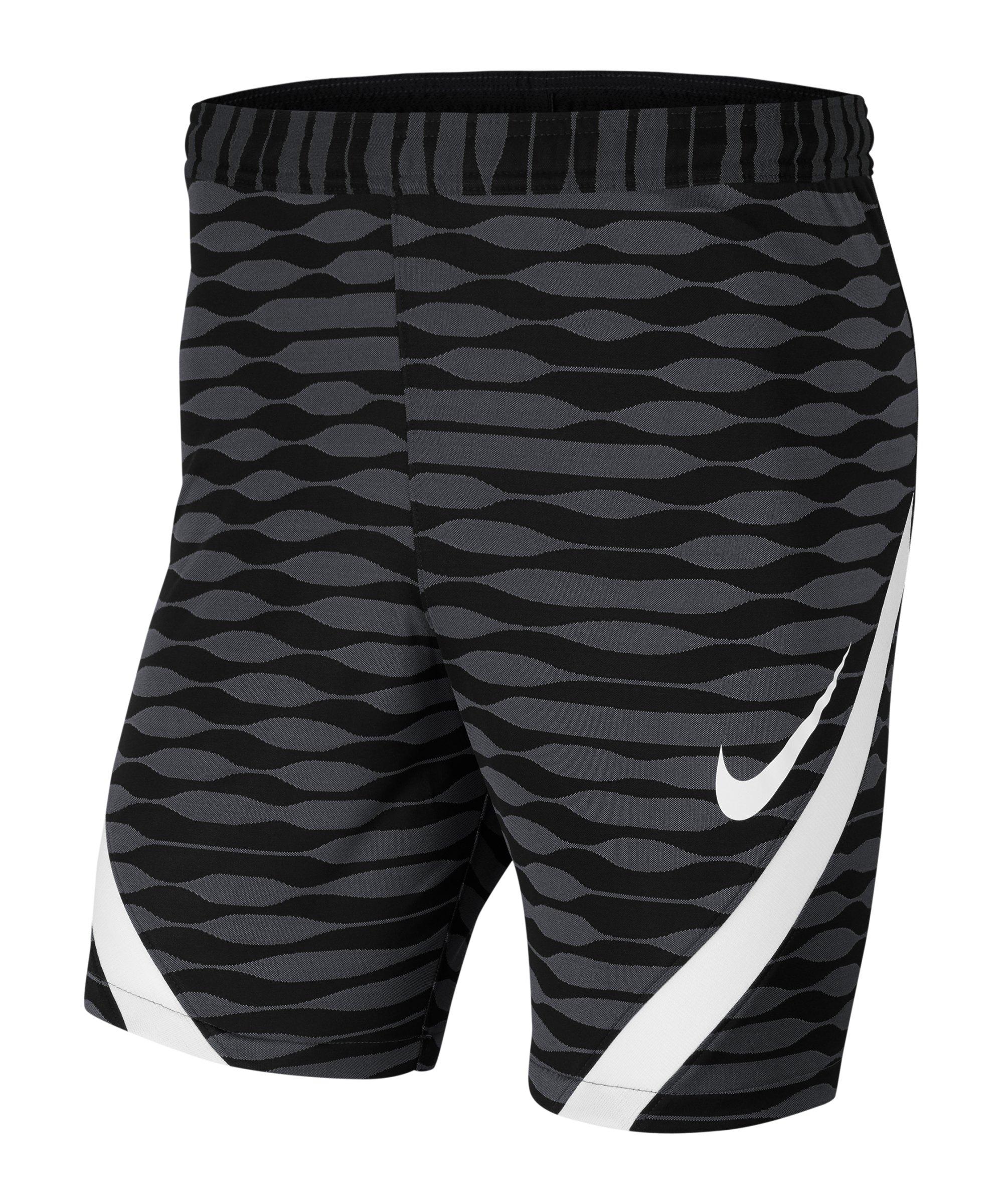 Nike Strike 21 Knit Short Schwarz Weiss F010 - schwarz