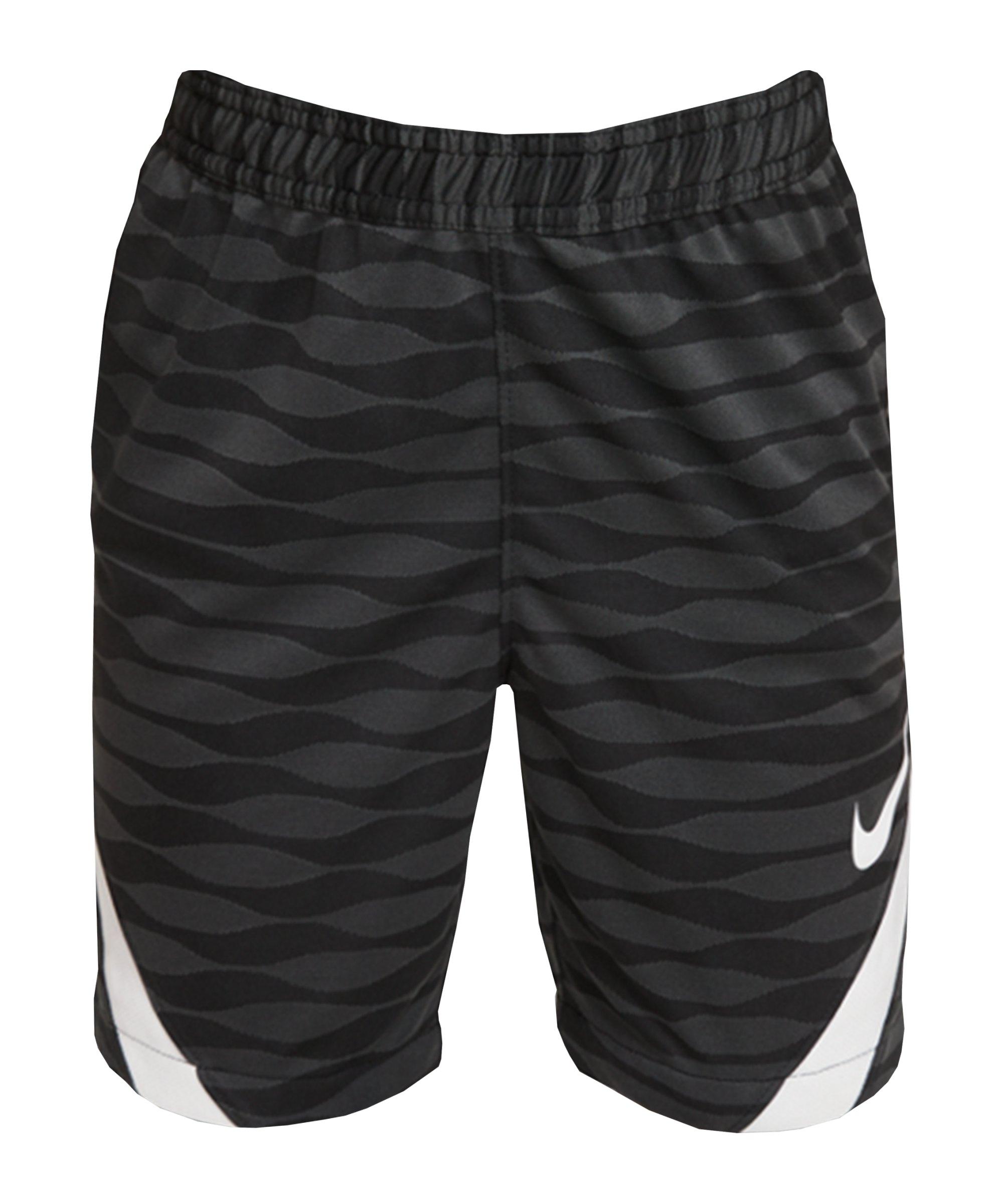Nike Strike 21 Short Kids Schwarz Weiss F010 - schwarz