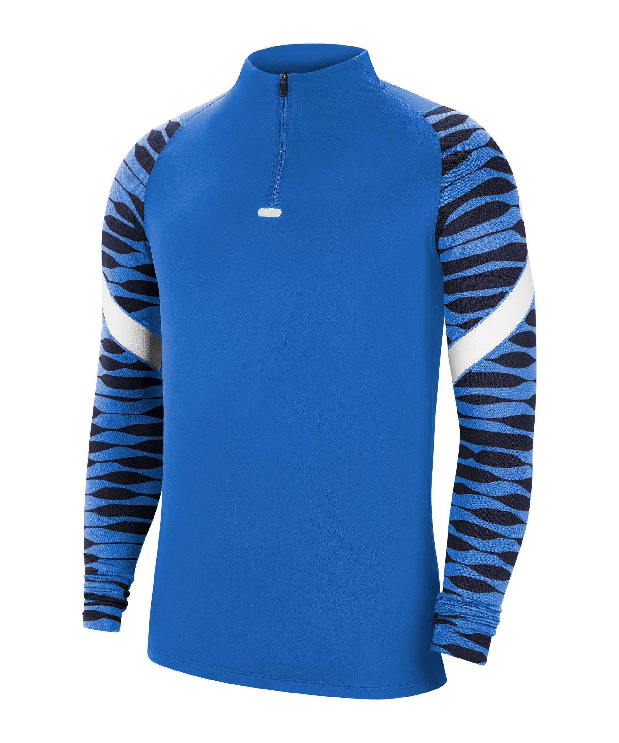 Nike Strike 21 Drill Top Blau Weiss F463 - blau