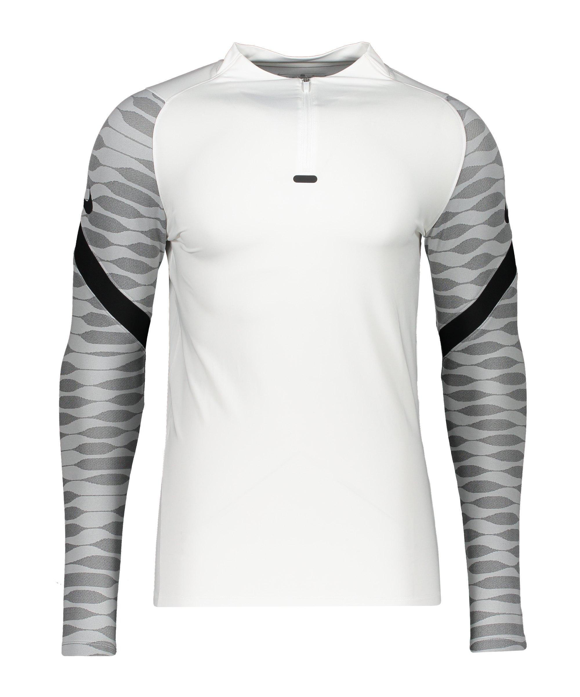 Nike Strike 21 Drill Top Weiss Schwarz F100 - weiss
