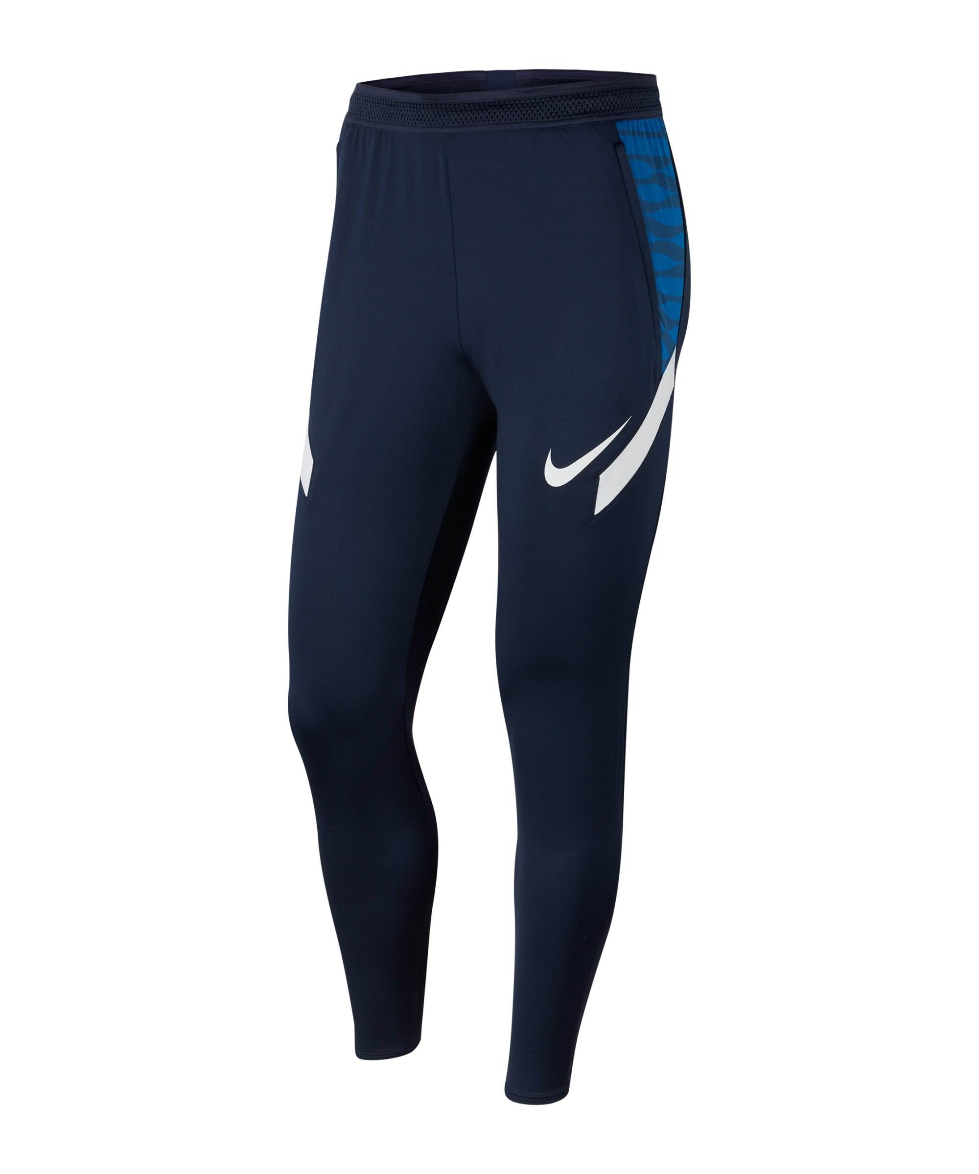 Nike Strike 21 Trainingshose Blau Weiss F451 - blau