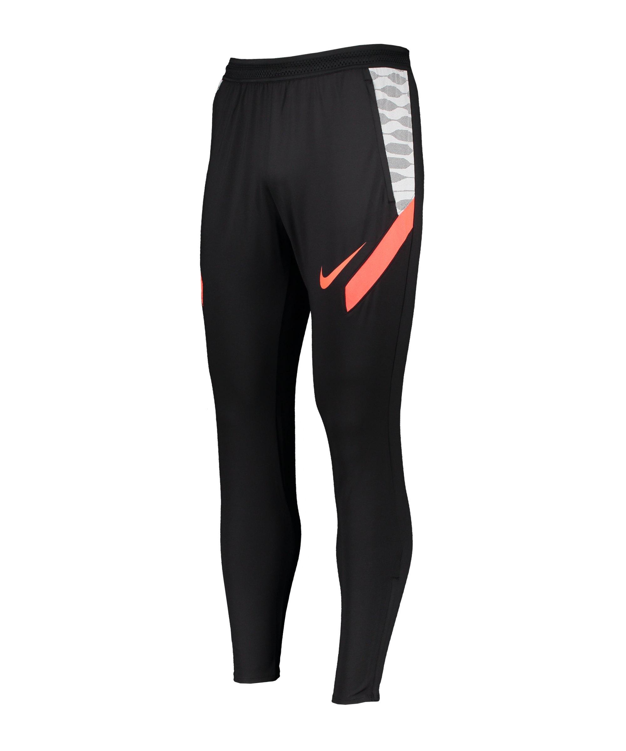 Nike Strike 21 Trainingshose Schwarz F015 - schwarz