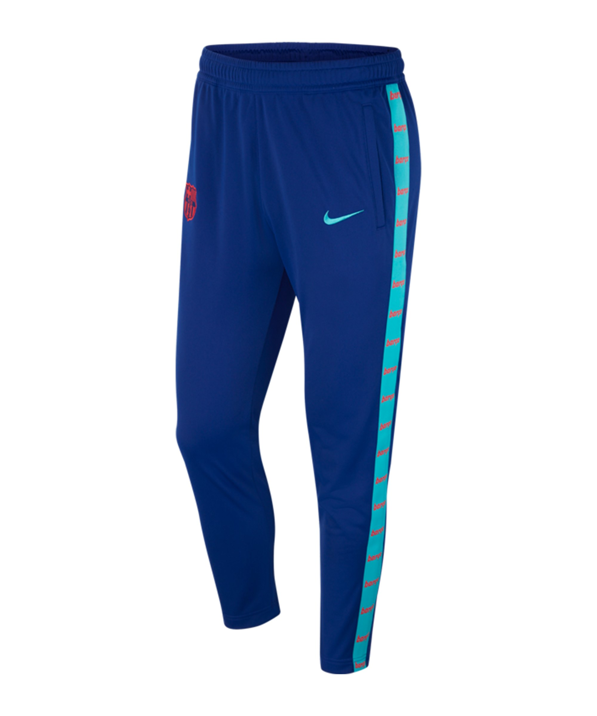 Nike FC Barcelona JDI Trainingshose Blau F455 - blau
