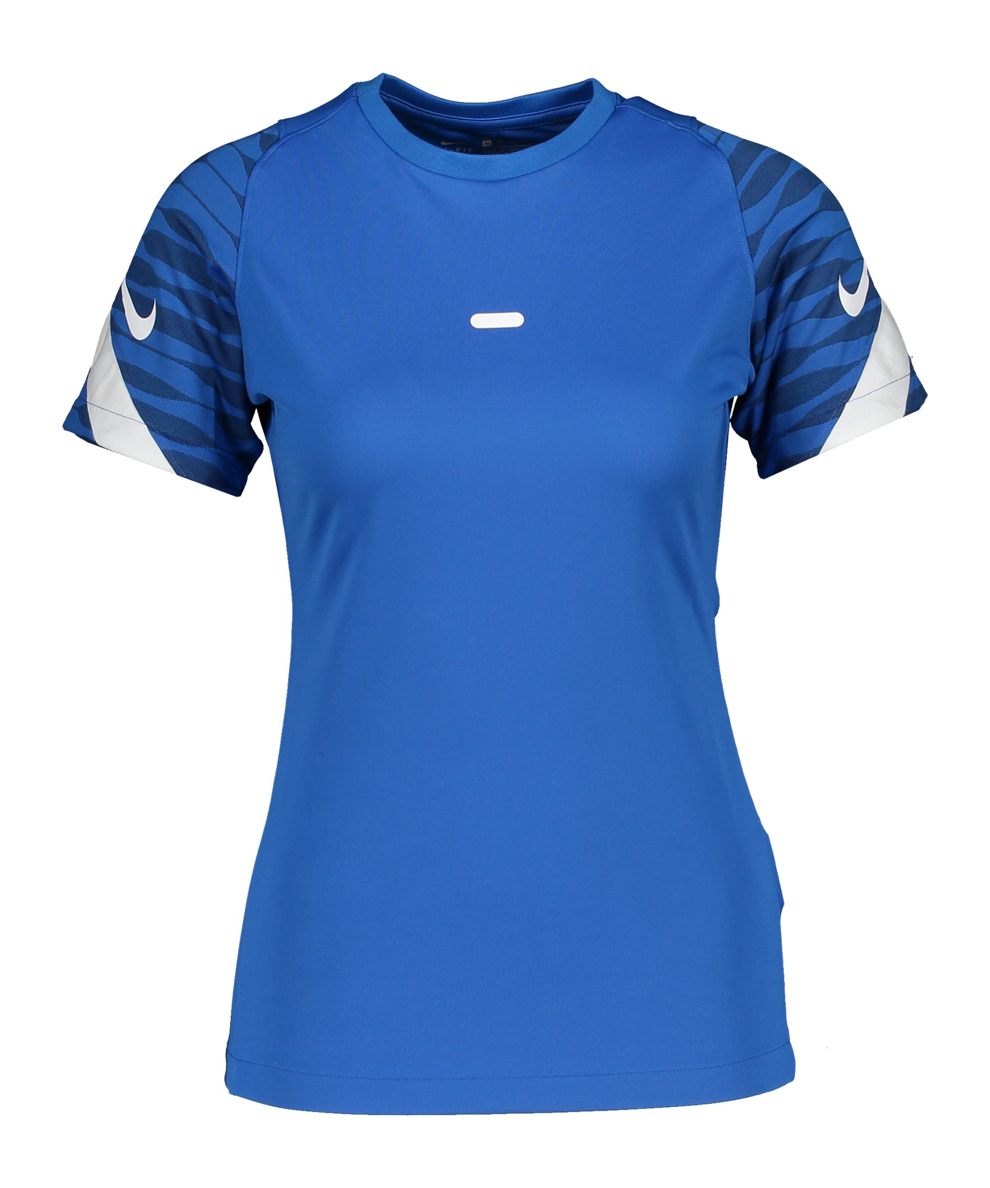 Nike Strike 21 T-Shirt Damen Blau Weiss F463 - blau