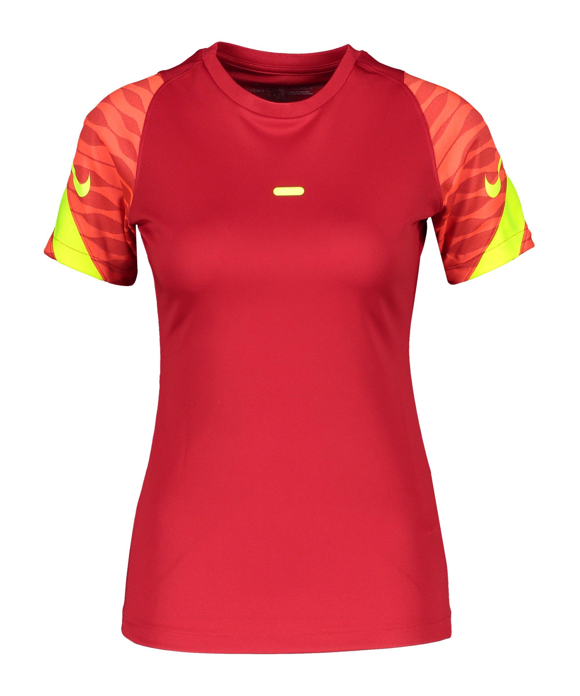 Nike Strike 21 T-Shirt Damen Rot F687 - rot