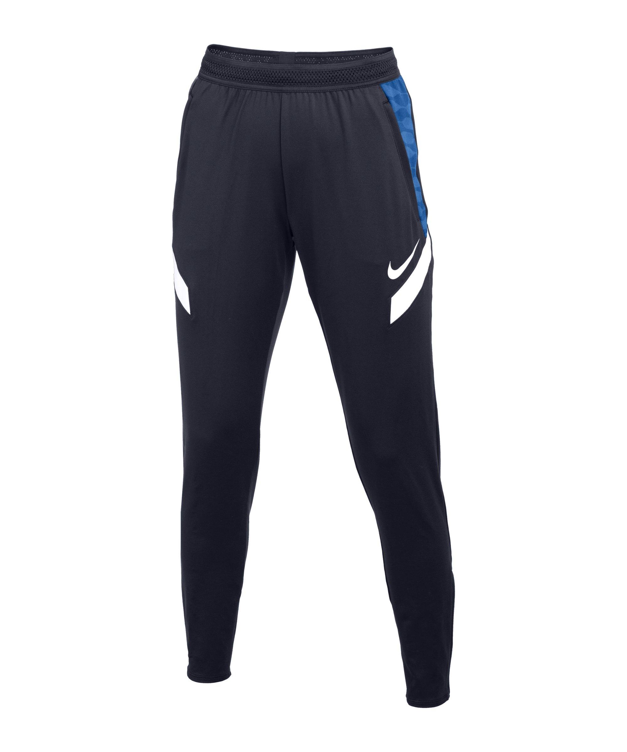 Nike Strike 21 Trainingshose Damen Blau Weiss F451 - blau